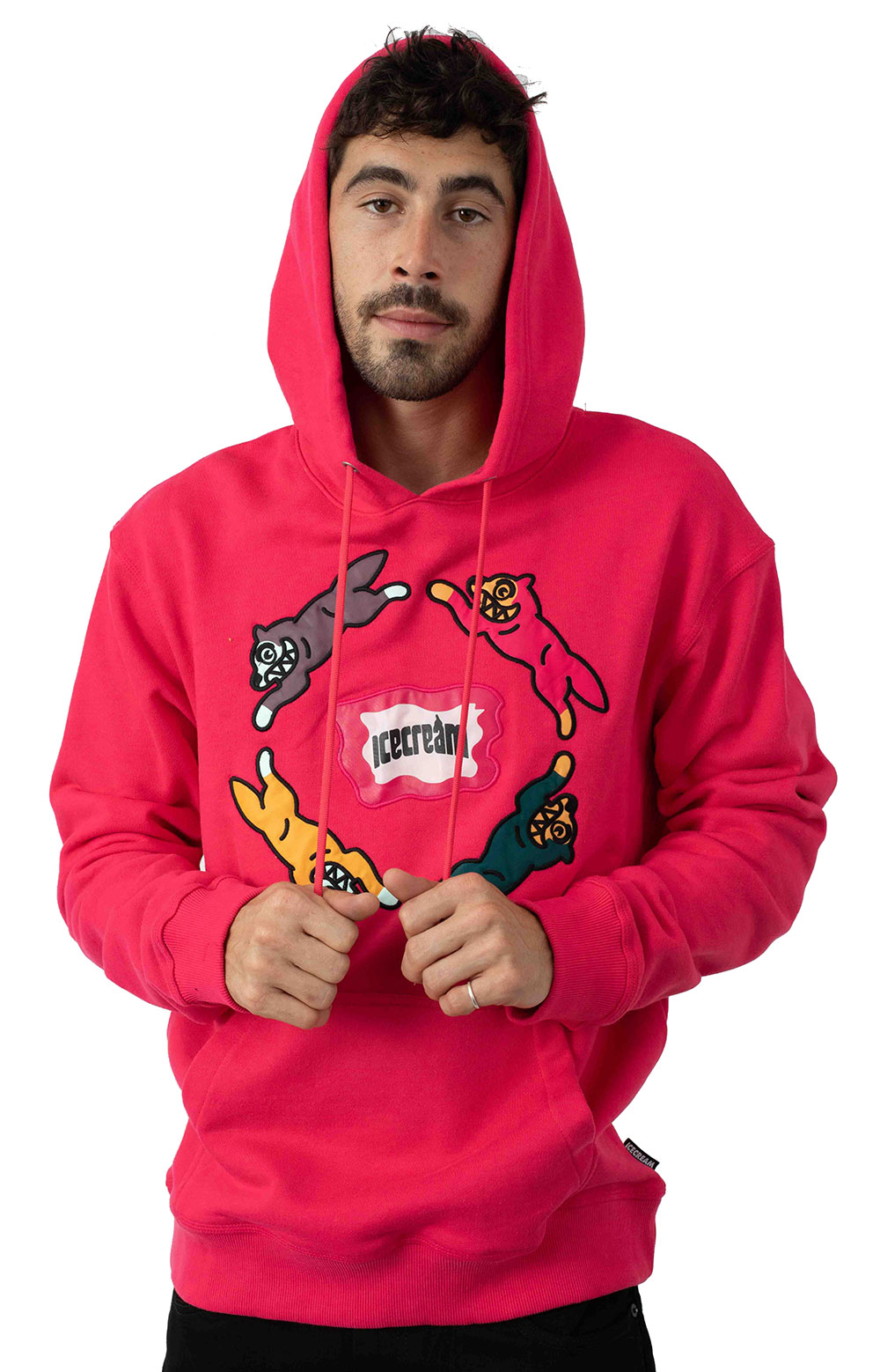Chase Pullover Hoodie - Raspberry