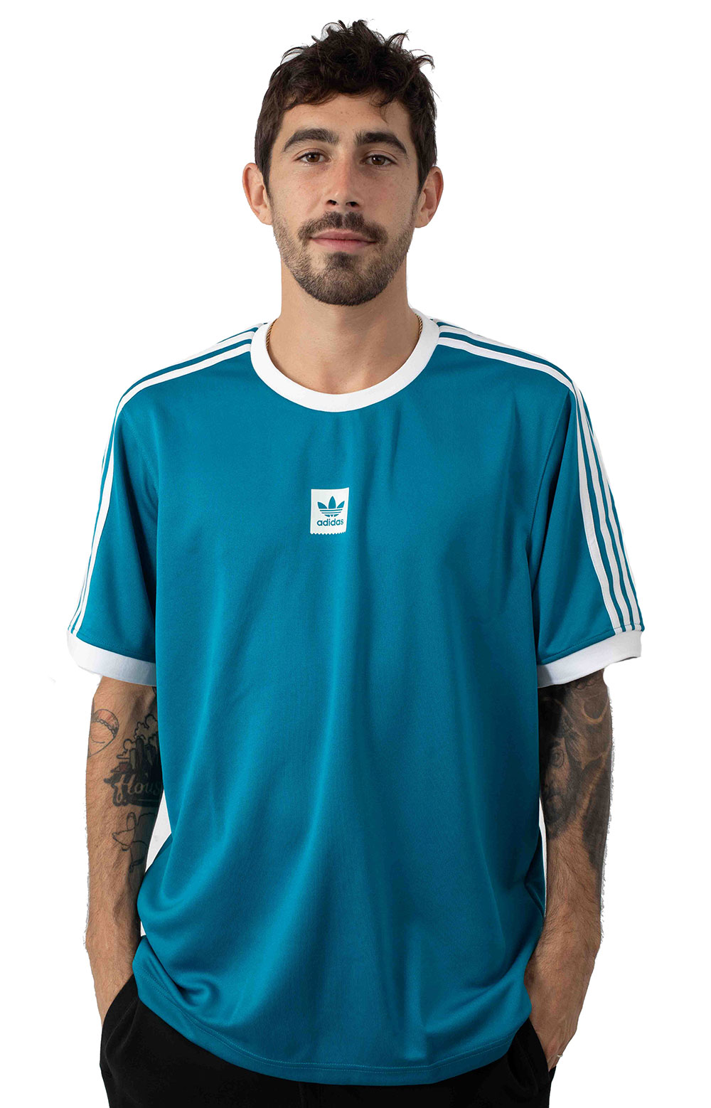 Club Jersey - Active Teal/White