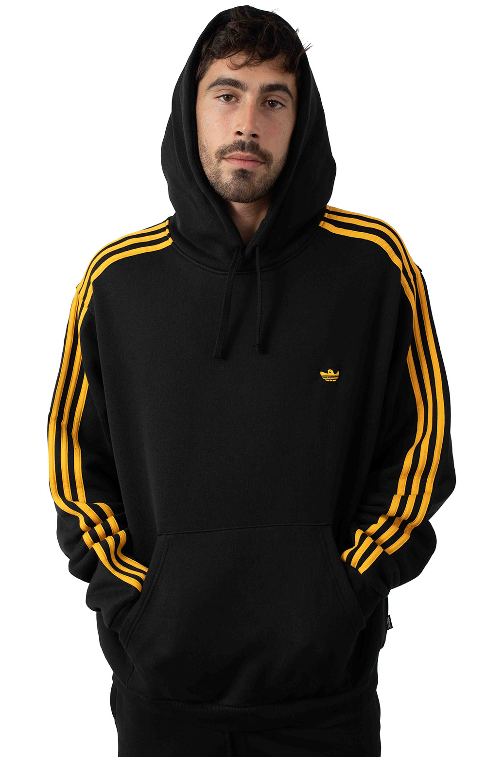 Mini Shmoo Pullover Hoodie - Black/Active Gold