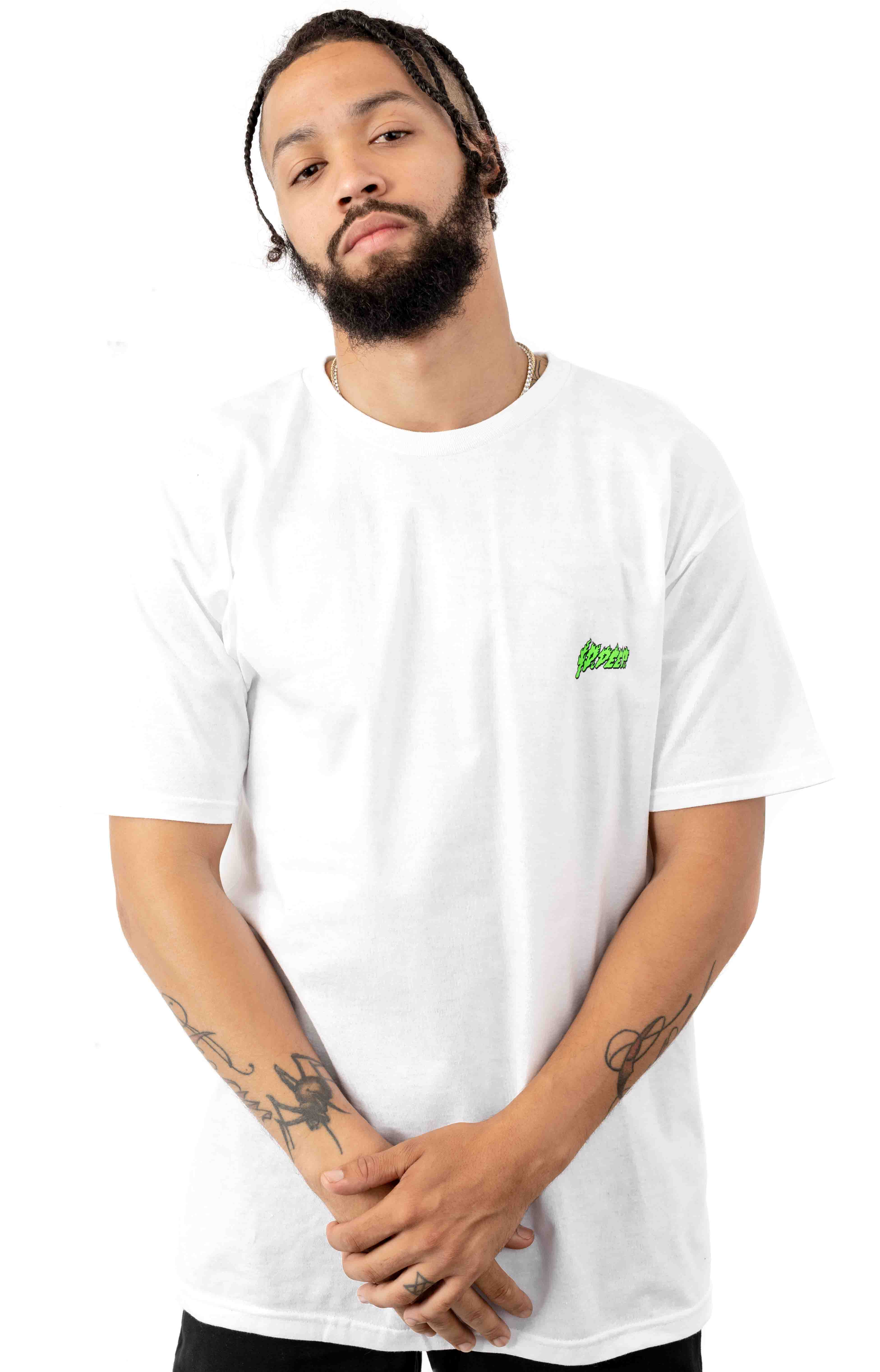 Slime & Fury T-Shirt - White