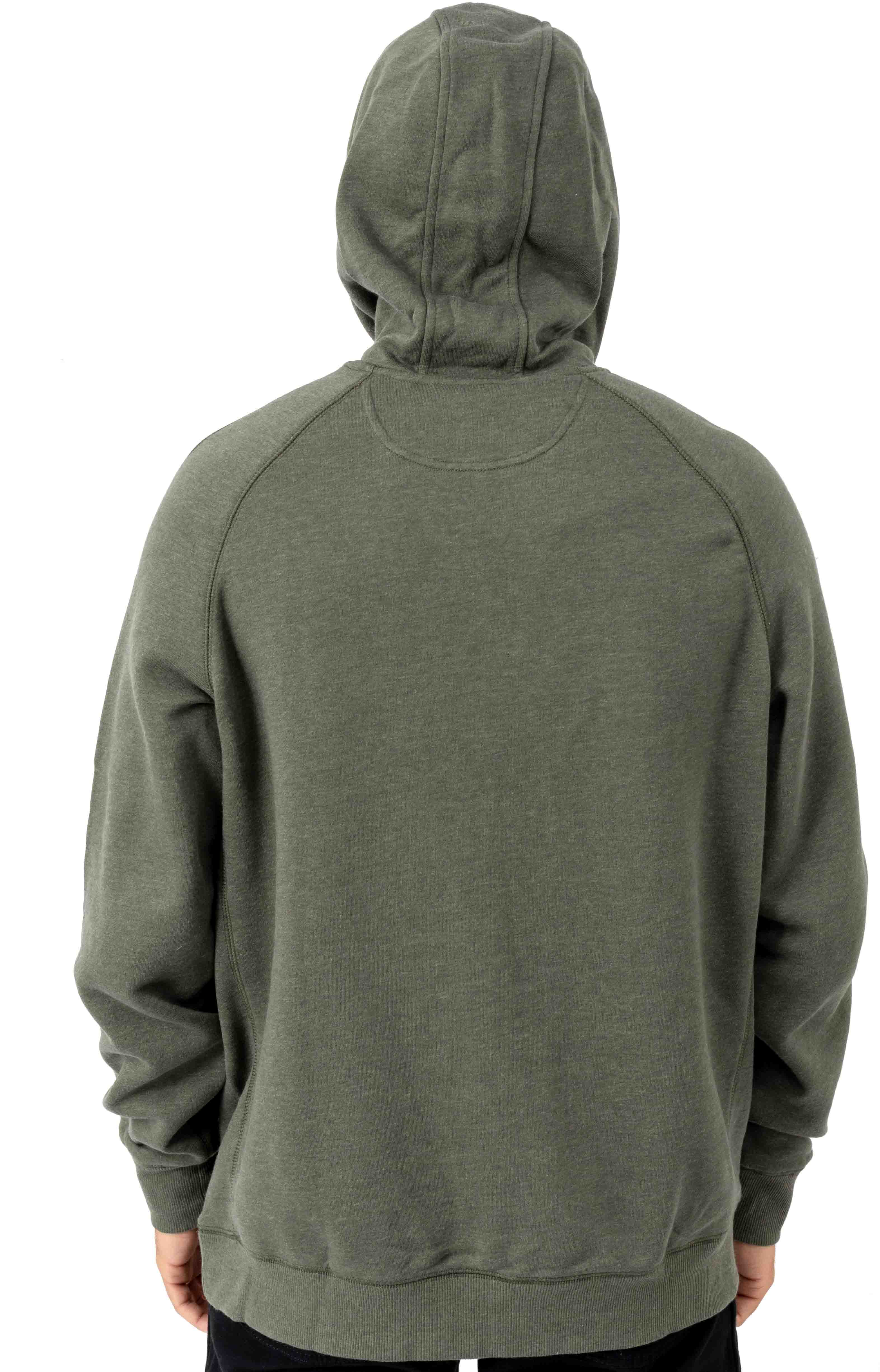 (103873) Force Delmont Signature Graphic Pullover Hoodie - Moss Heather  3