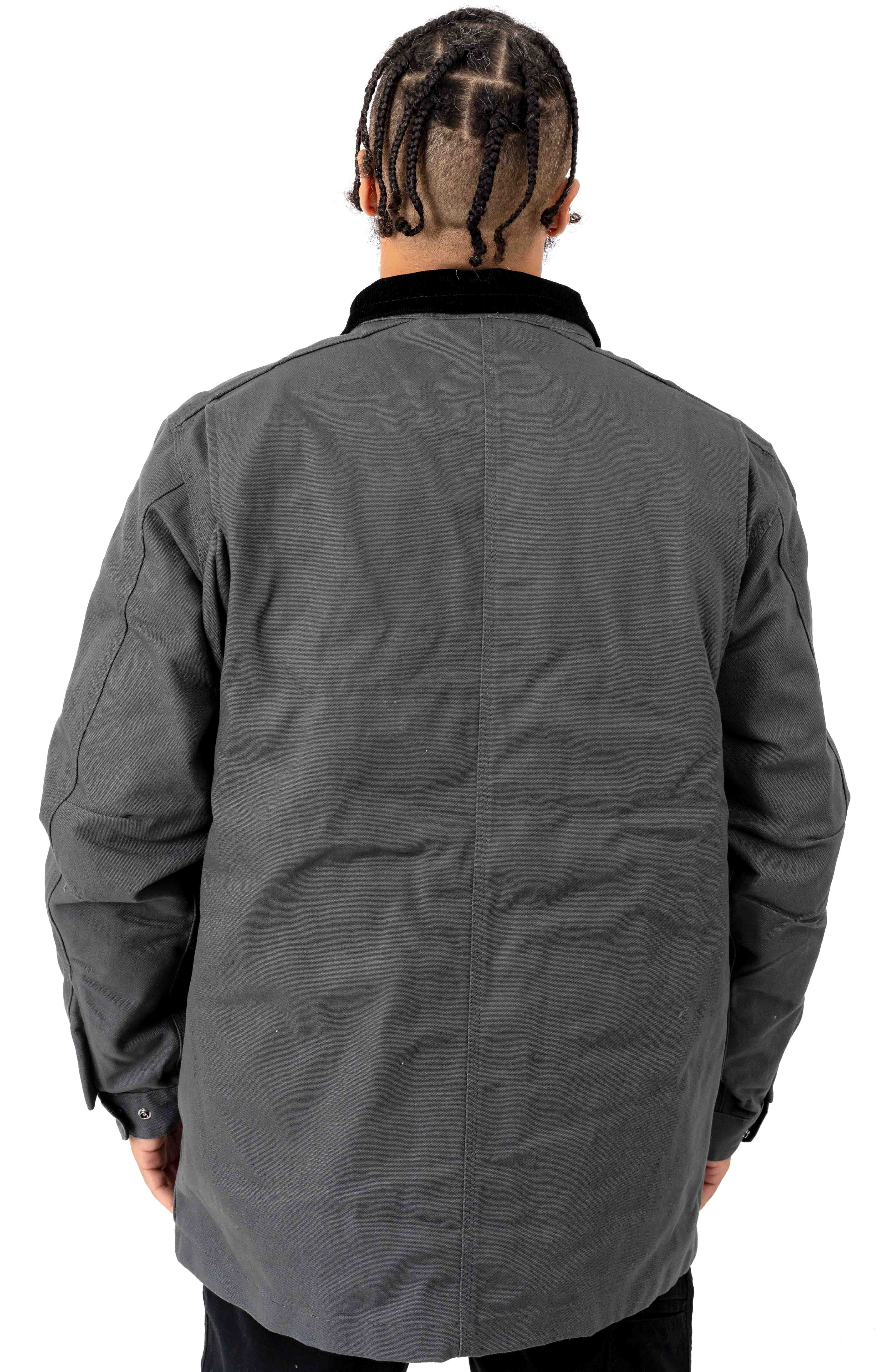 (103289) Filed Coat - Shadow/Black Lining  3