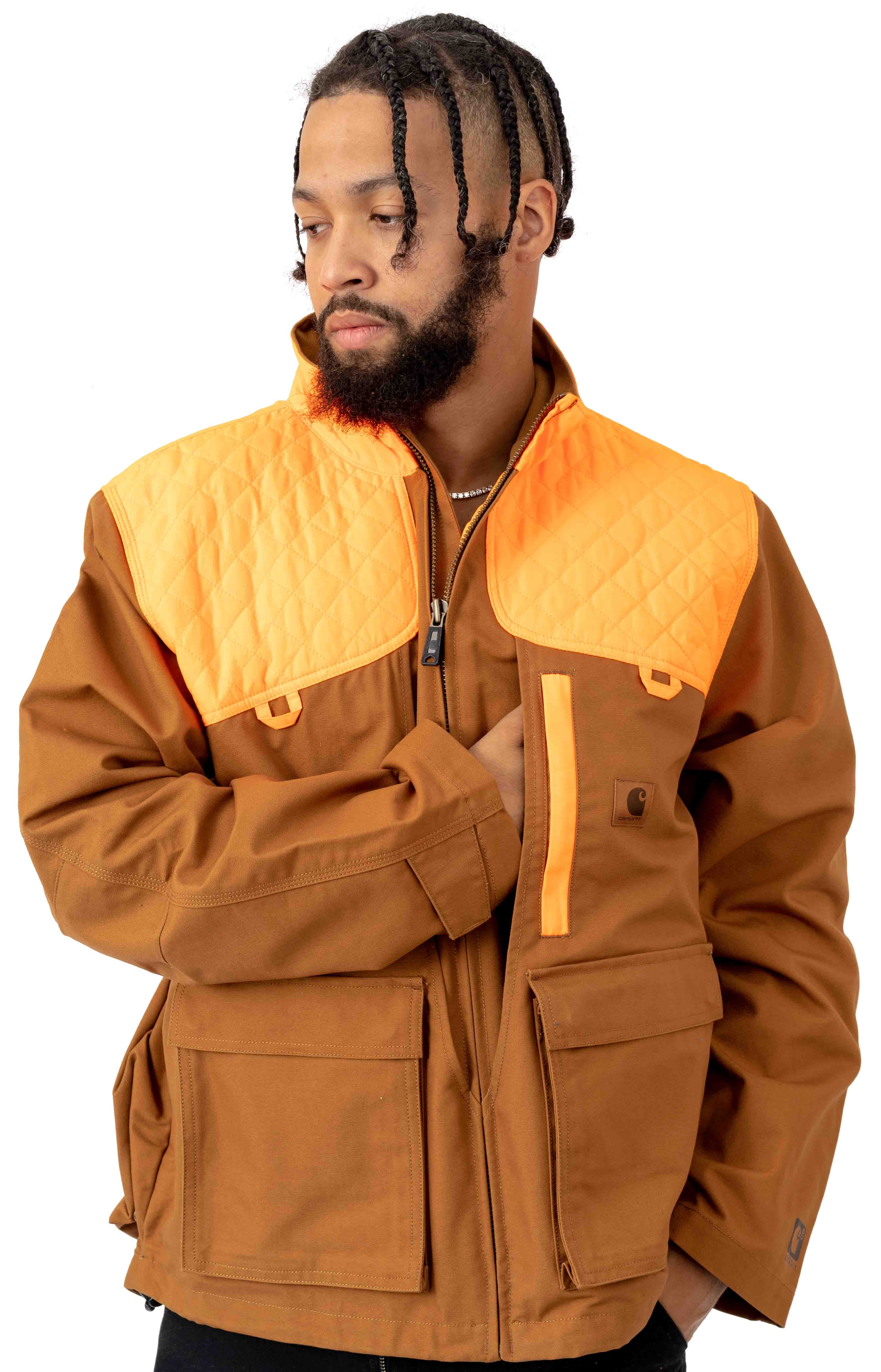 (102800) Upland Field Jacket - Carhartt Brown