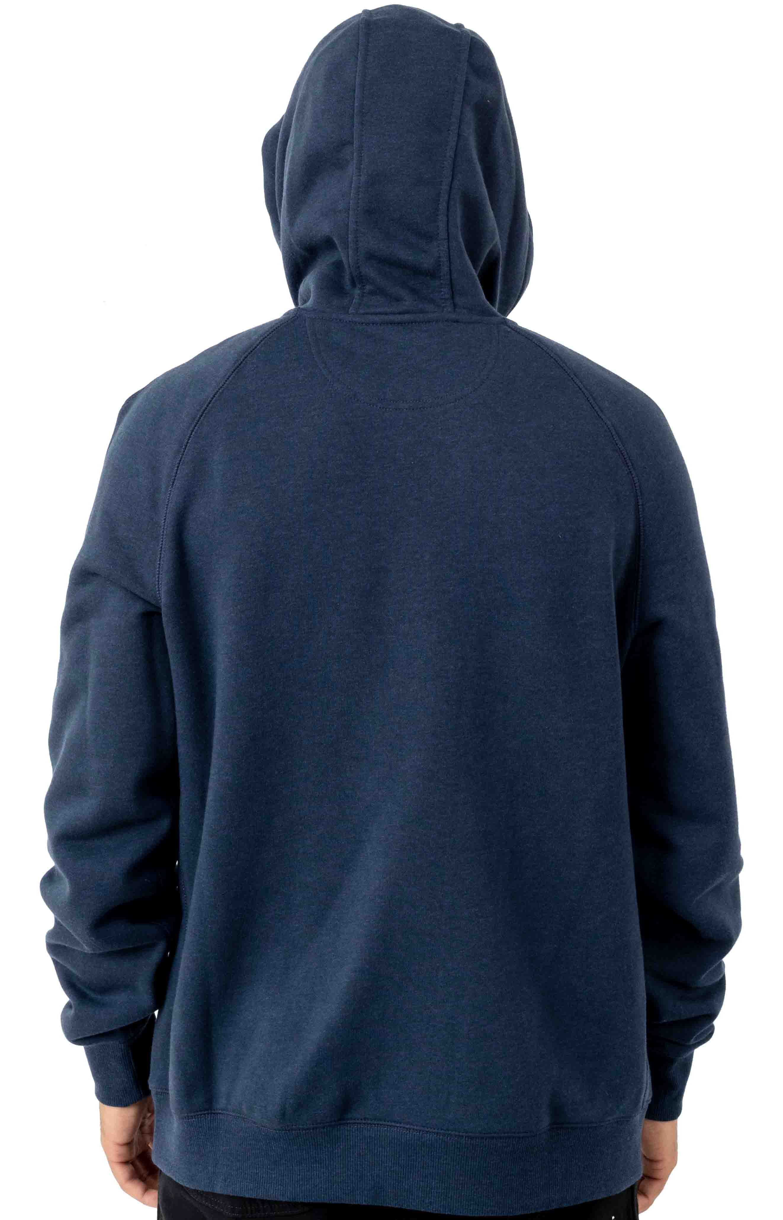 (103873) Force Delmont Signature Graphic Pullover Hoodie - Navy Heather  3