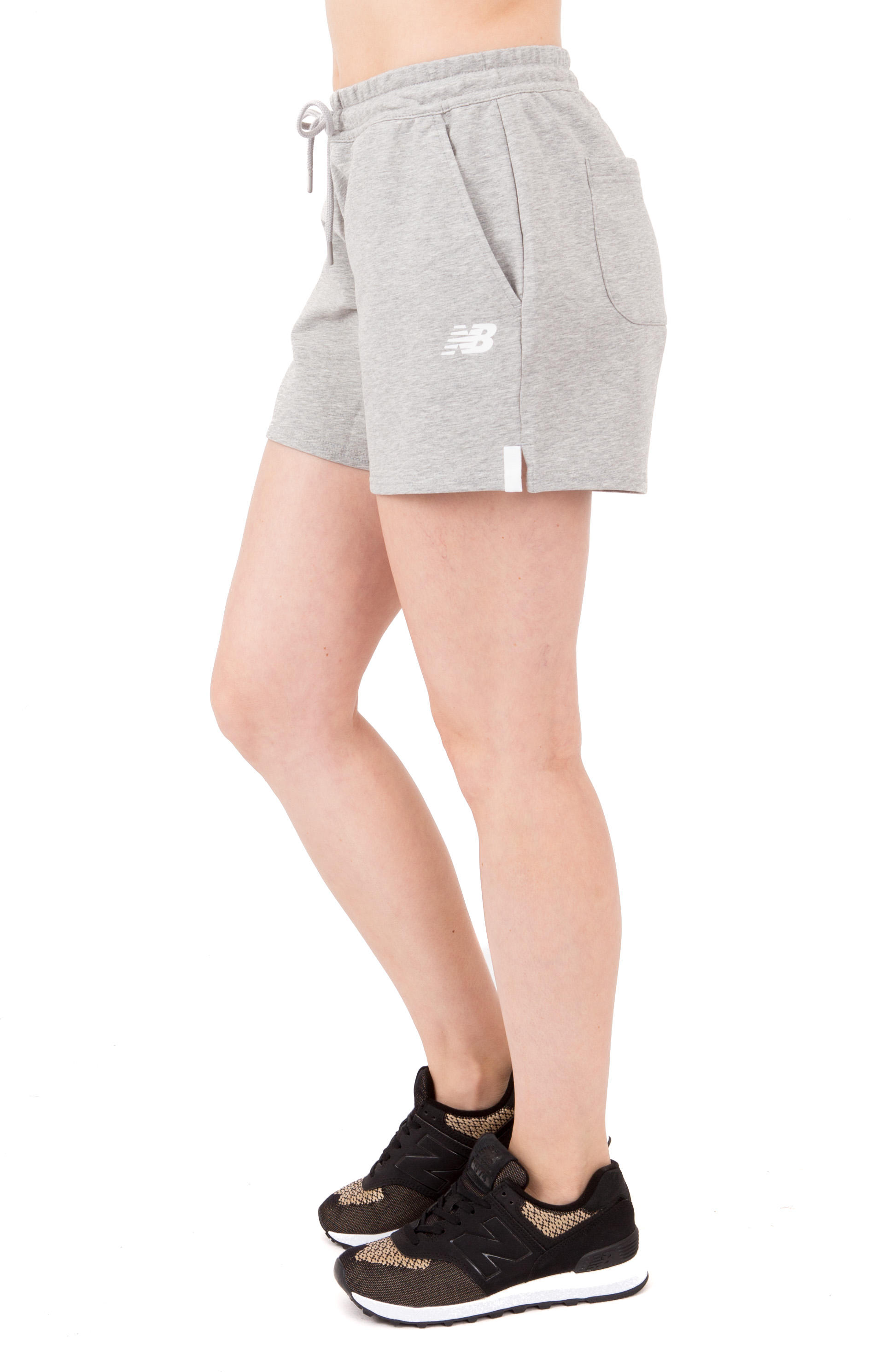 Atheletics Knit Short - Grey