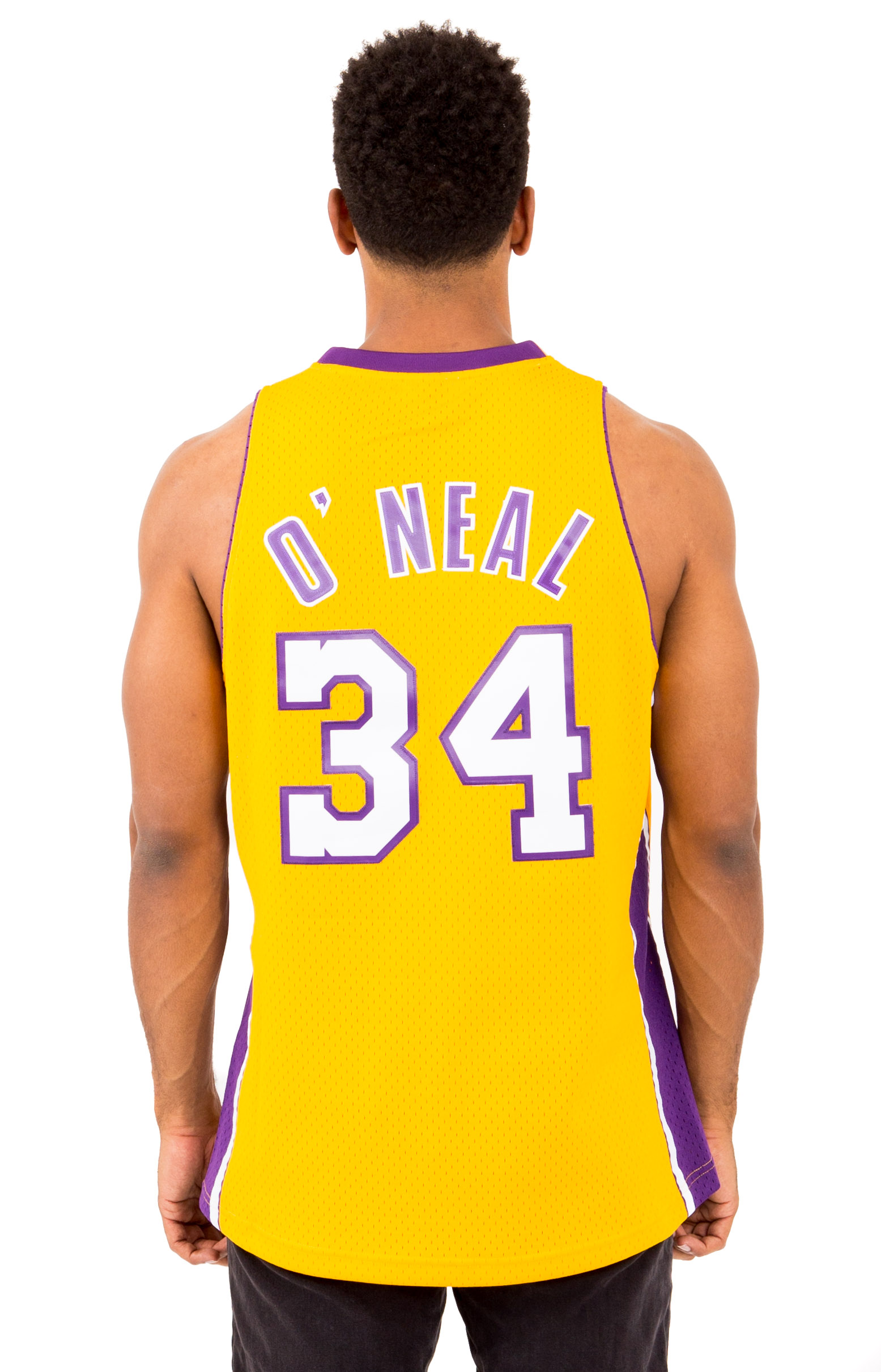 1addf5ebb Shaquille O Neal Swingman Jersey Los Angeles Lakers. Thumbnail 1 Thumbnail  1 Thumbnail 1