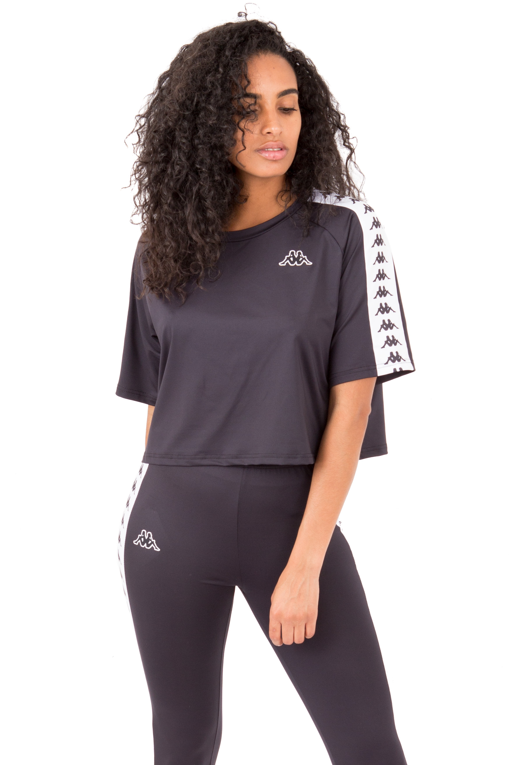 Banda Atum Top - Black/White