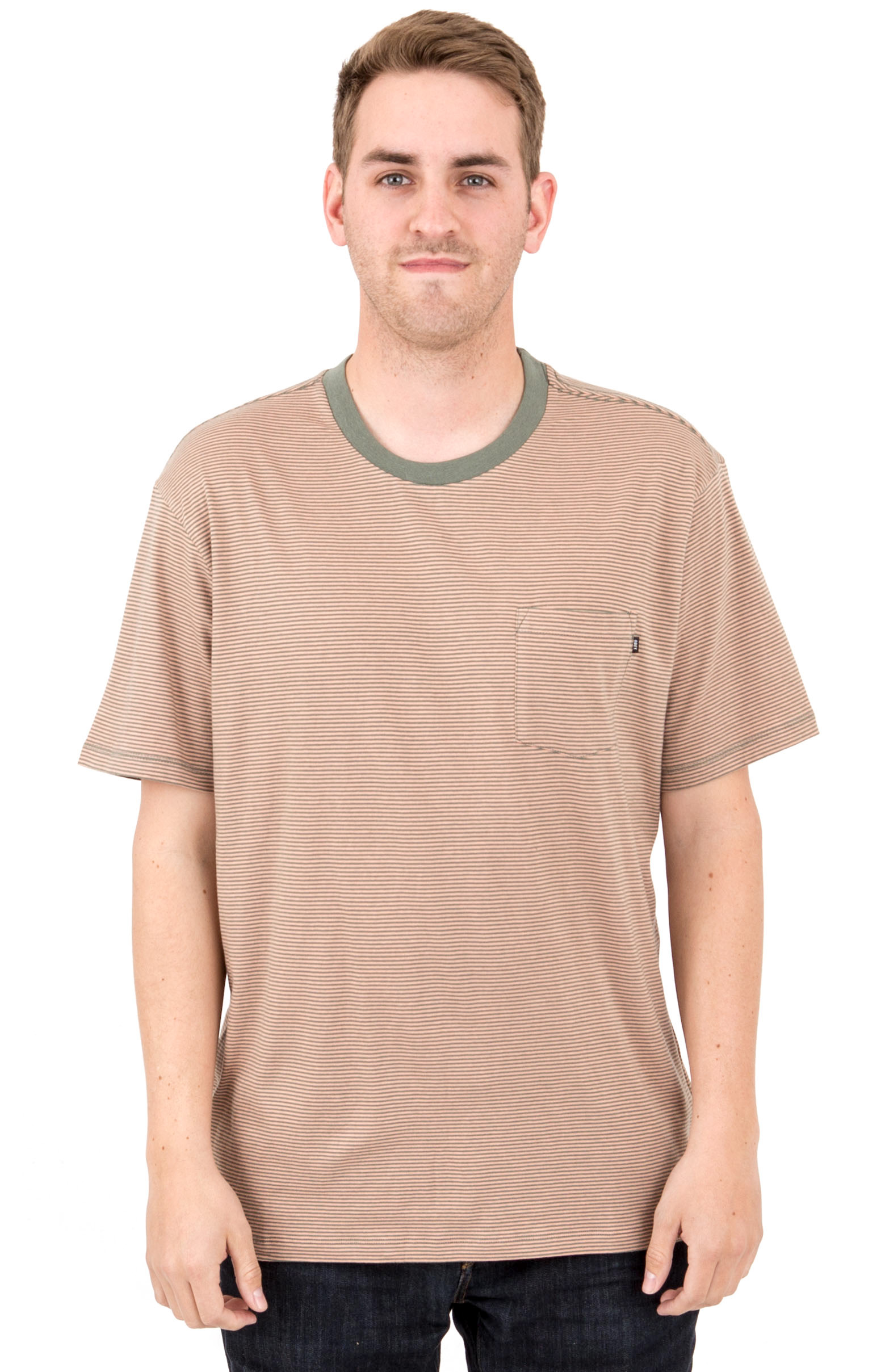Wisemaker Pocket T-Shirt - Dusty Rose