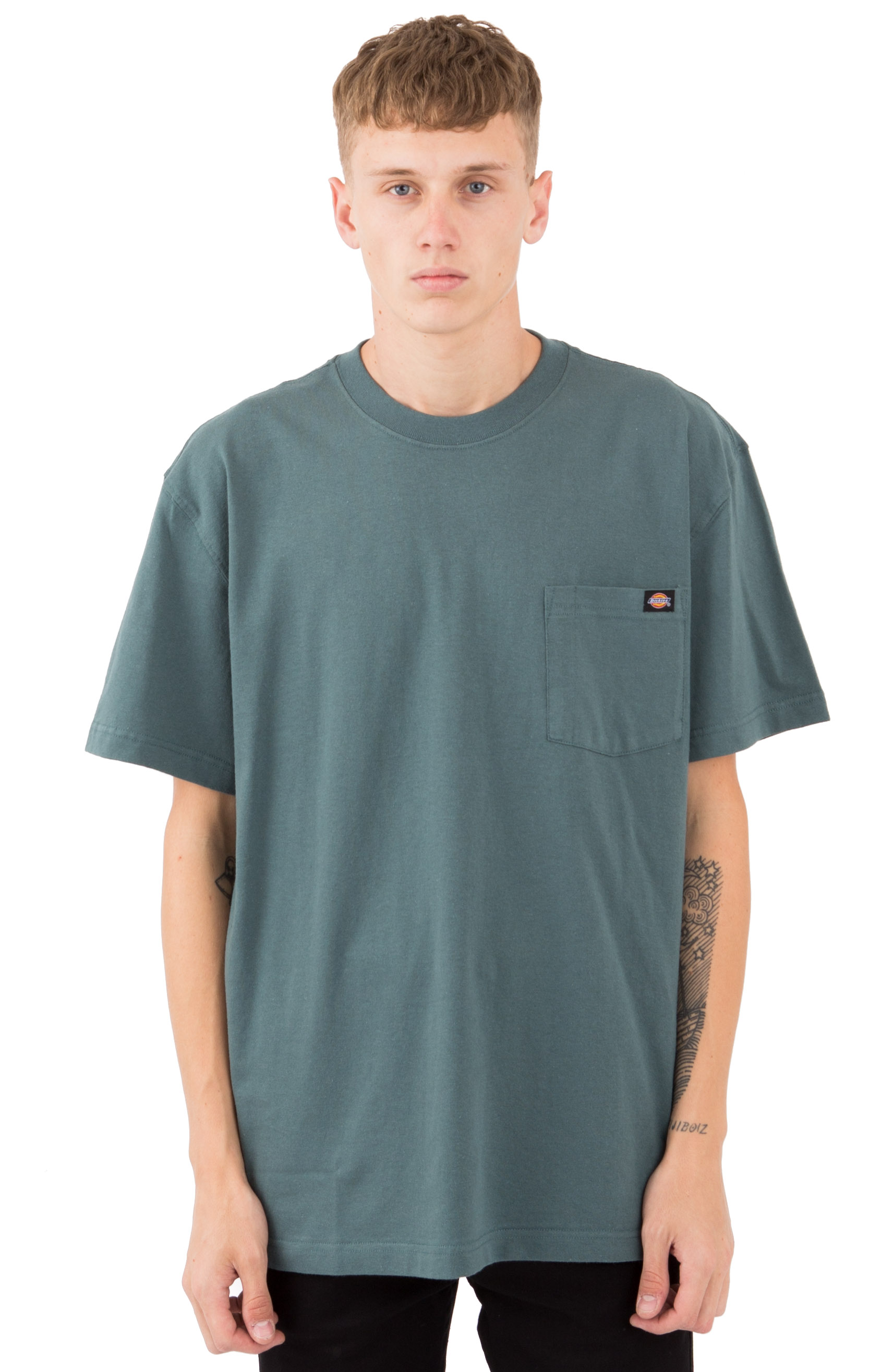 (WS450LN) Short Sleeve Heavyweight T-Shirt - Lincoln Green
