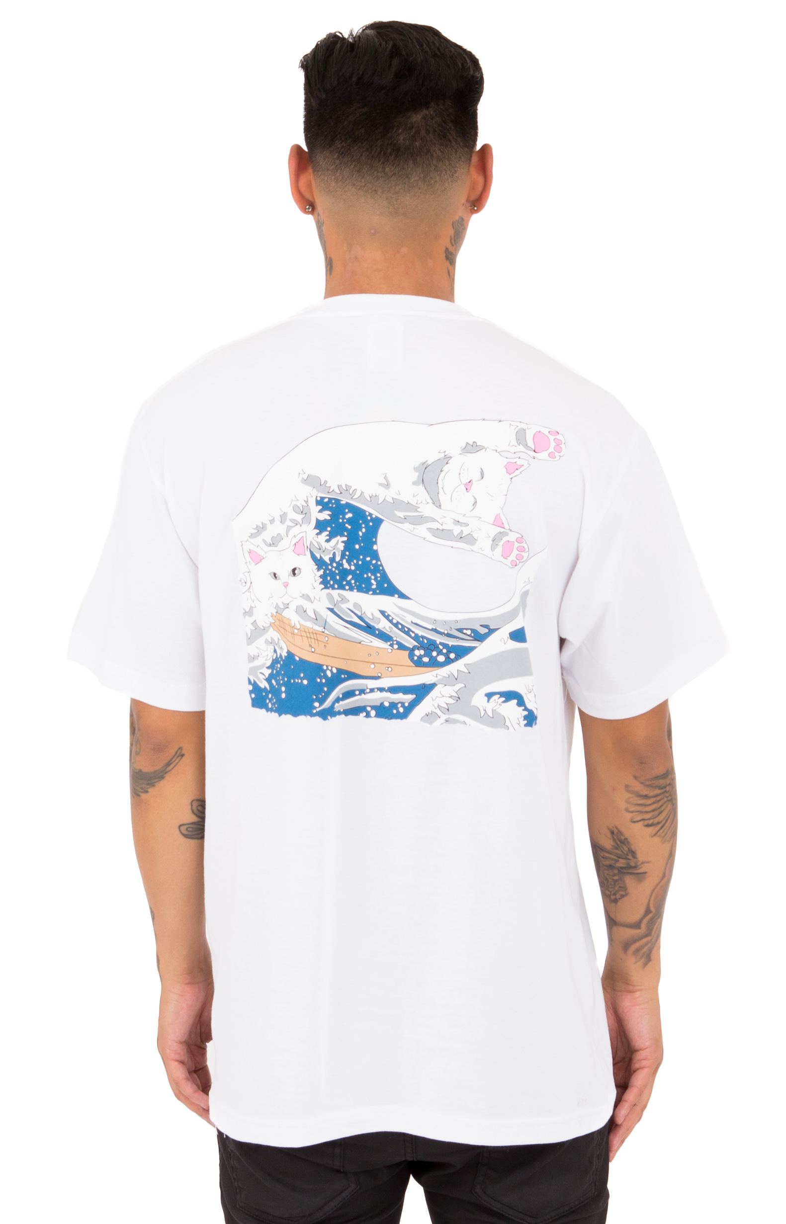 Great Wave T-Shirt - White