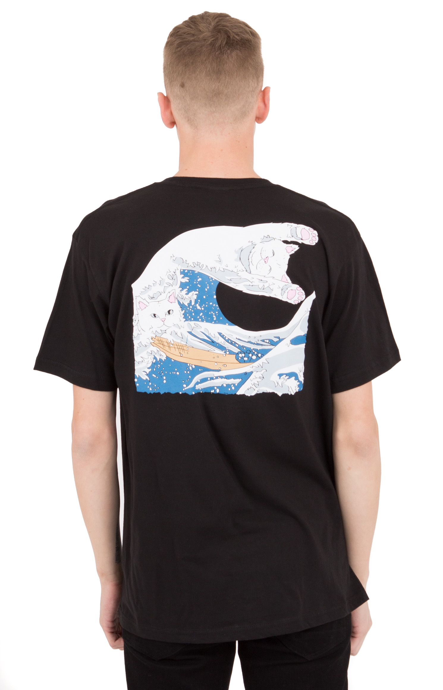 Great Wave T-Shirt - Black