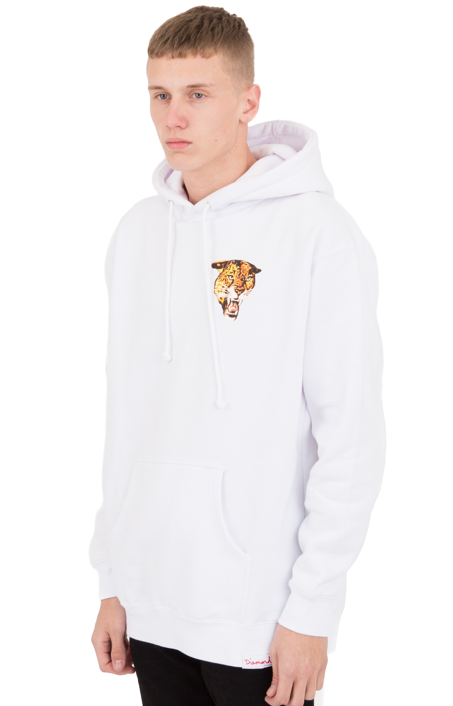 Gulf Pullover Hoodie - White 3
