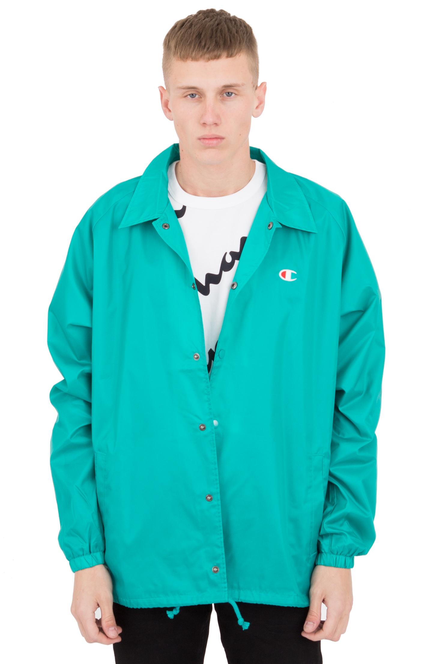 West Breaker Coaches Jacket - Vivid Teal