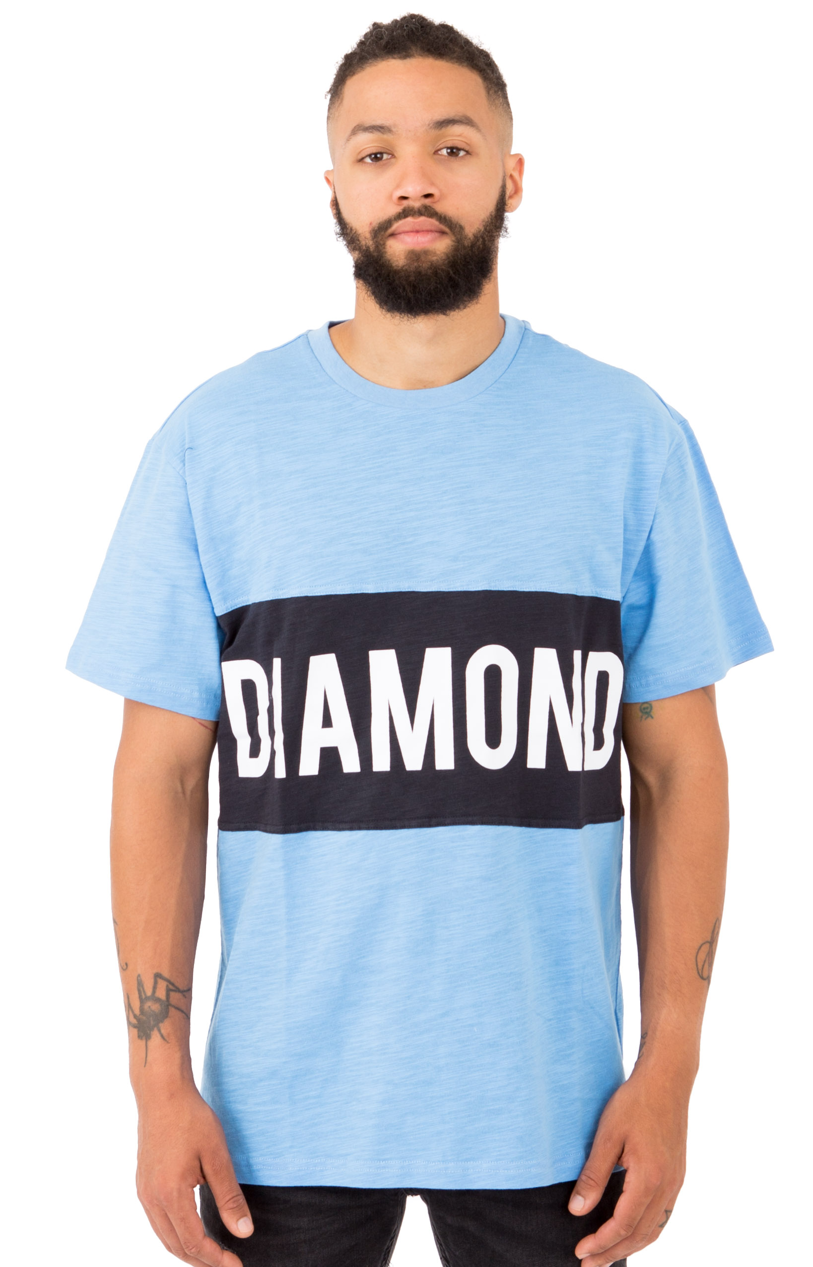 Diamond Supply, Origin Panel T-Shirt - Blue