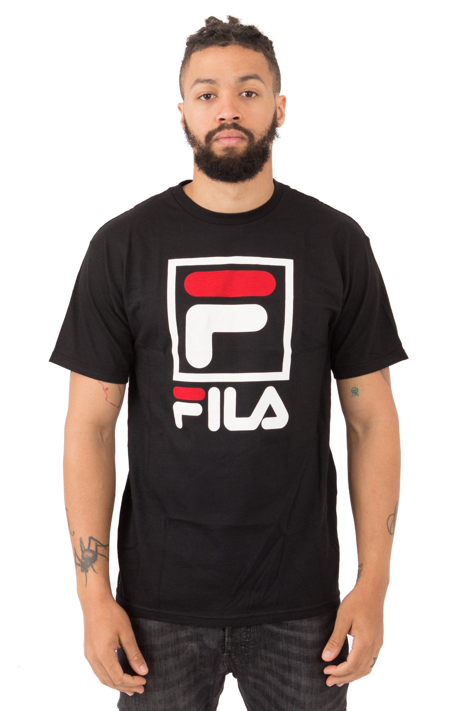 Stacked T-Shirt - Black