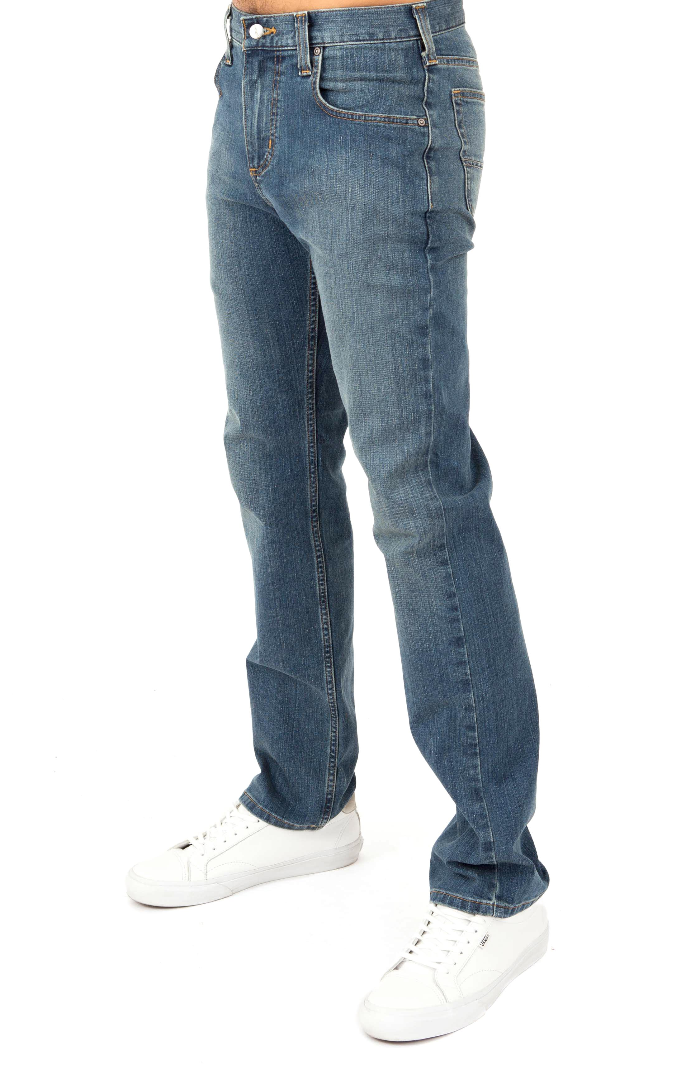 (102804) Rugged Flex Relaxed Fit Straight Leg Jean - Coldwater