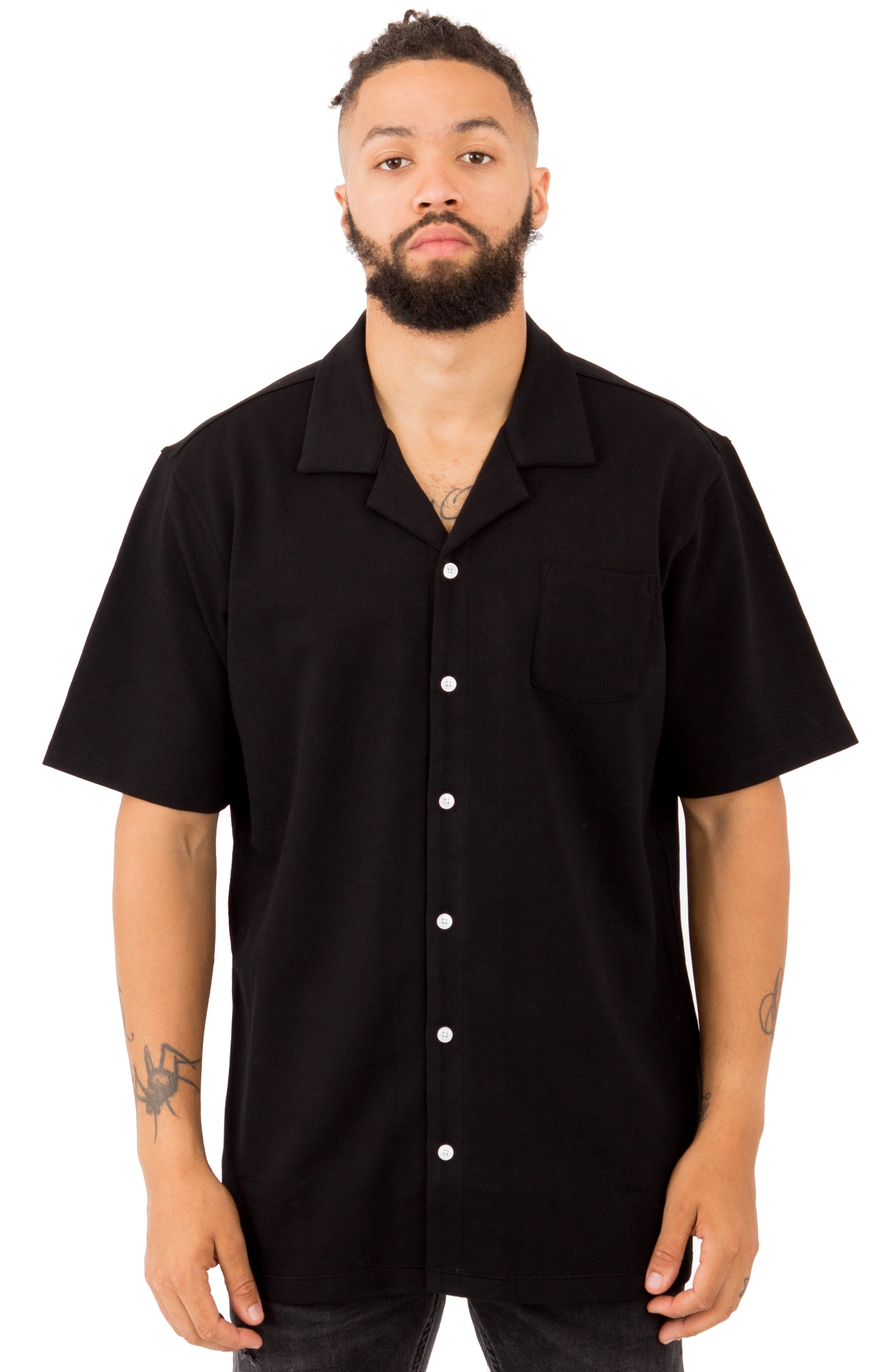 Publish, Feregrino Button-Up Shirt - Black