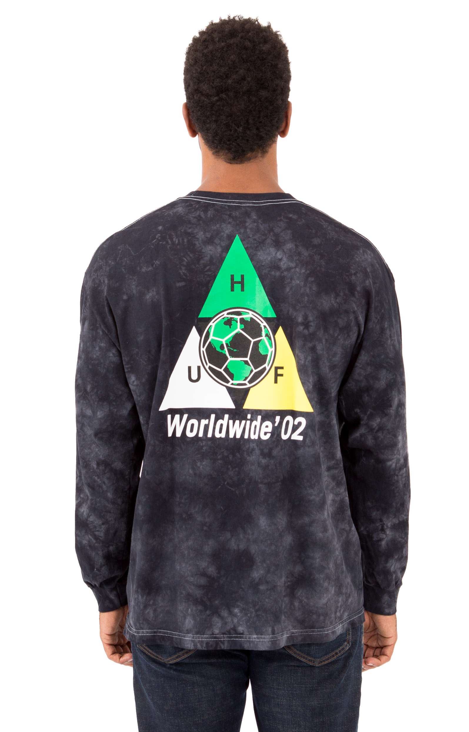 Takeover Triple Triangle L/S Shirt - Black