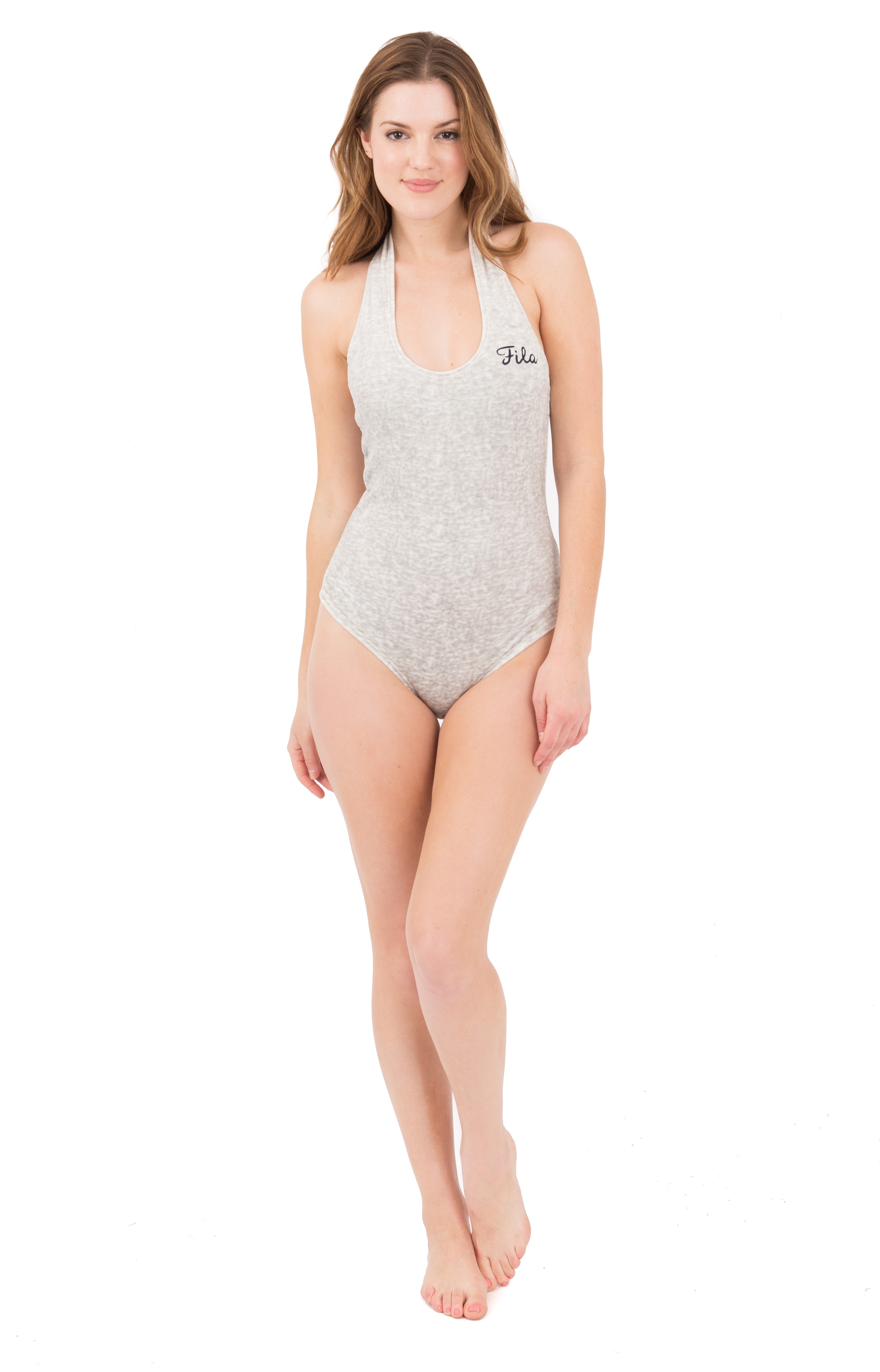 Philomena Bodysuit - Grey 2