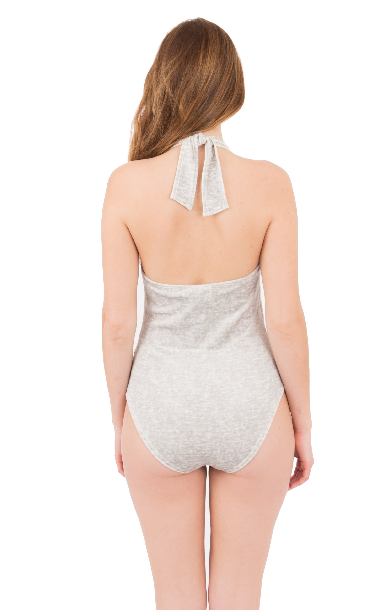 Philomena Bodysuit - Grey 3