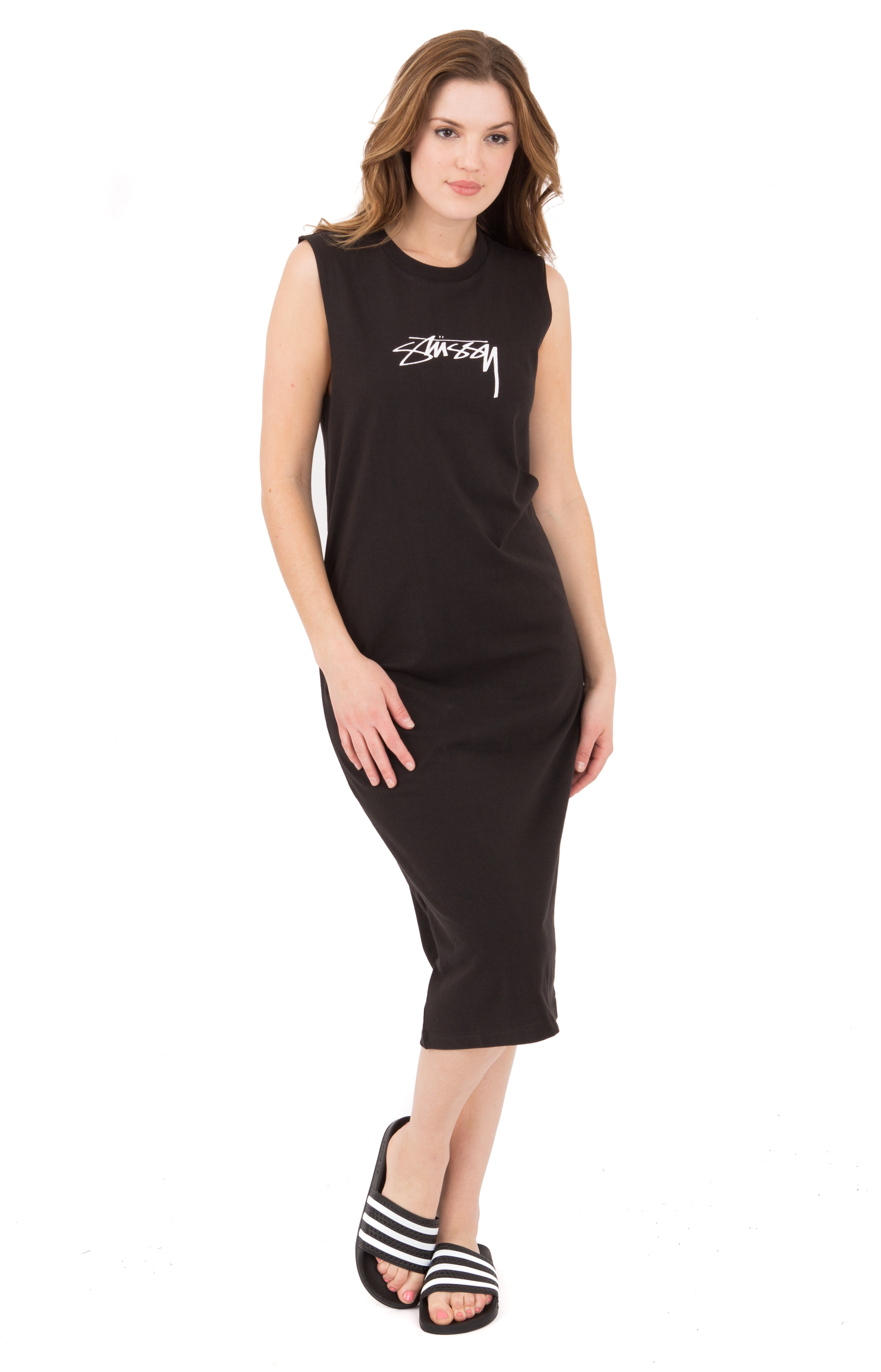 Ezra Muscle Dress - Black