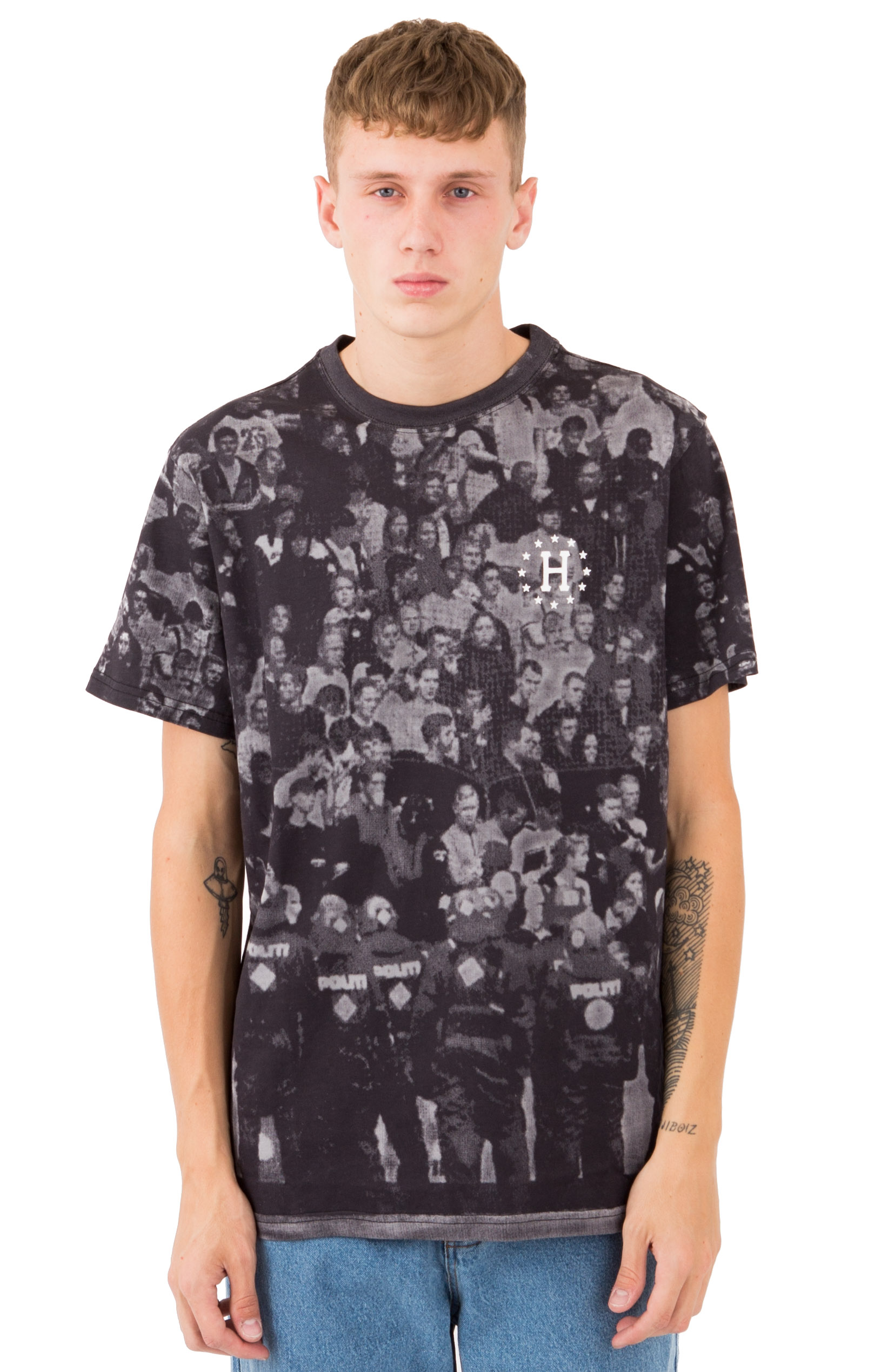 Huf, WC 12 Galaxies Riot T-Shirt - Black