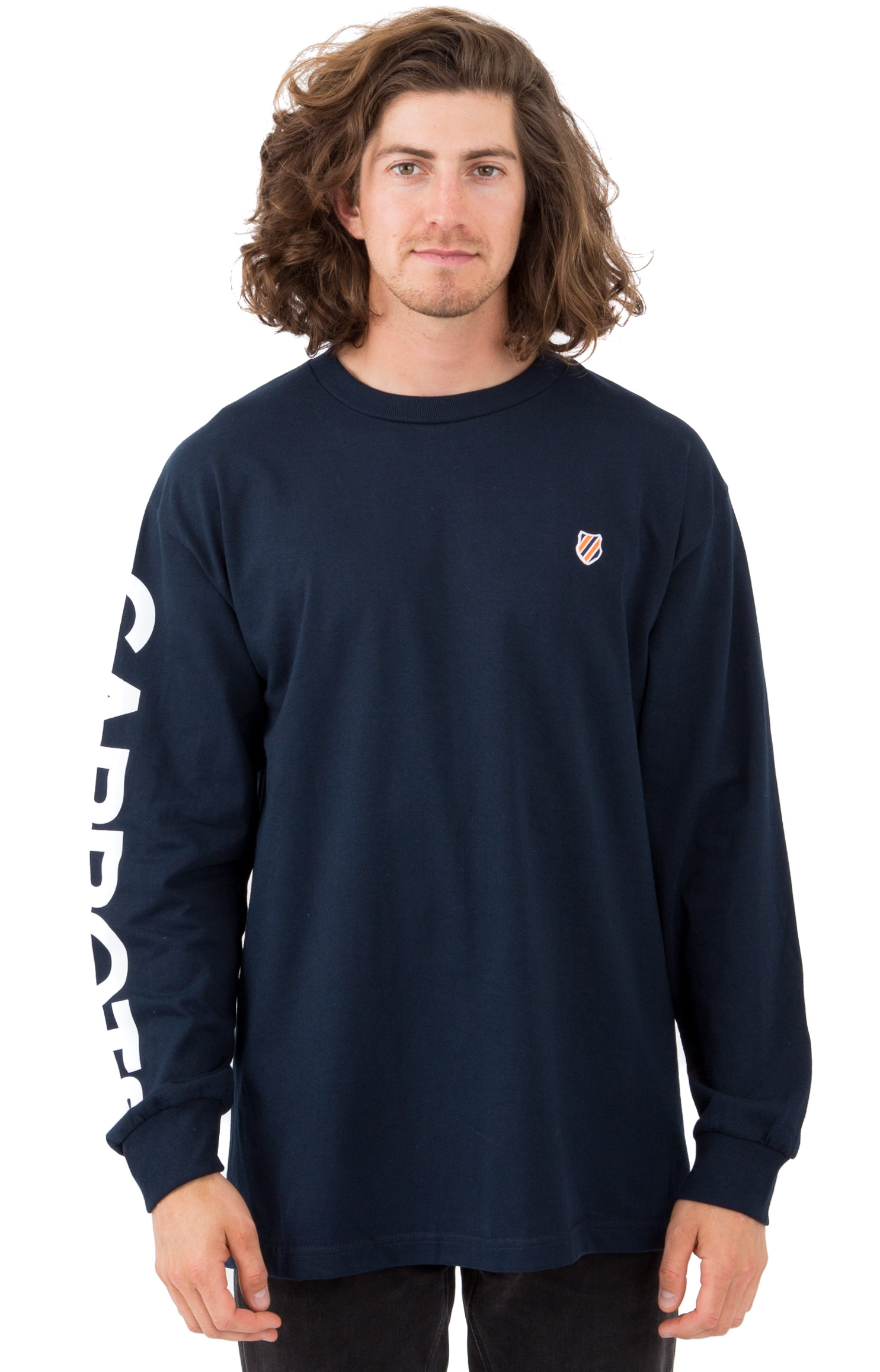 Carrots x K-Swiss, Logo L/S Shirt - Navy