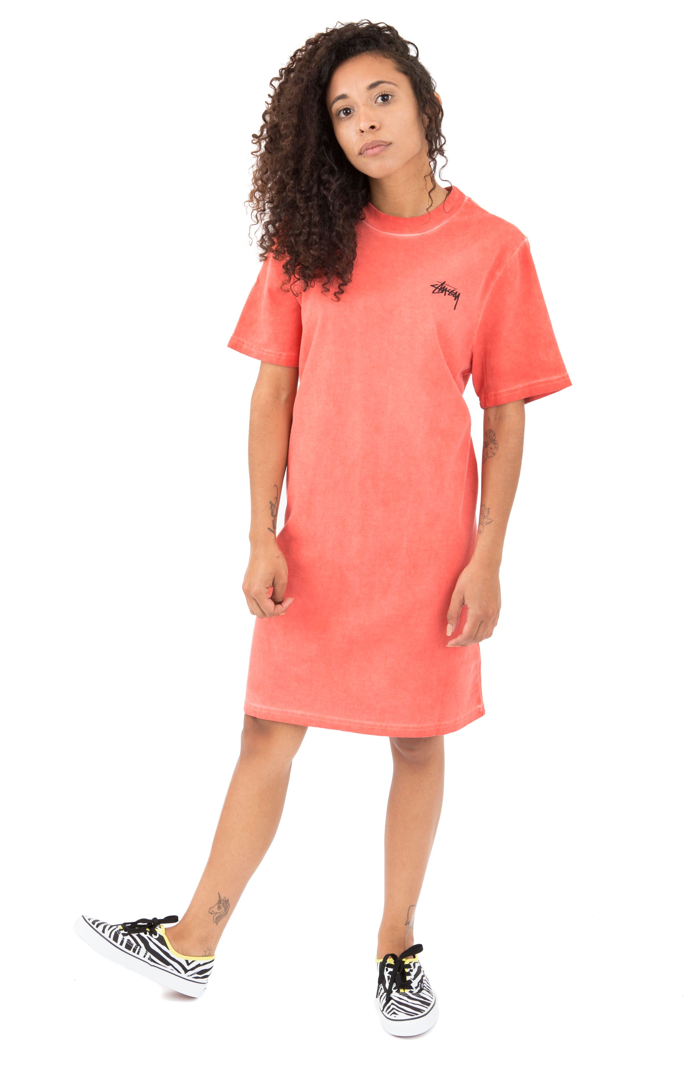 Dev T-Shirt Dress - Pink