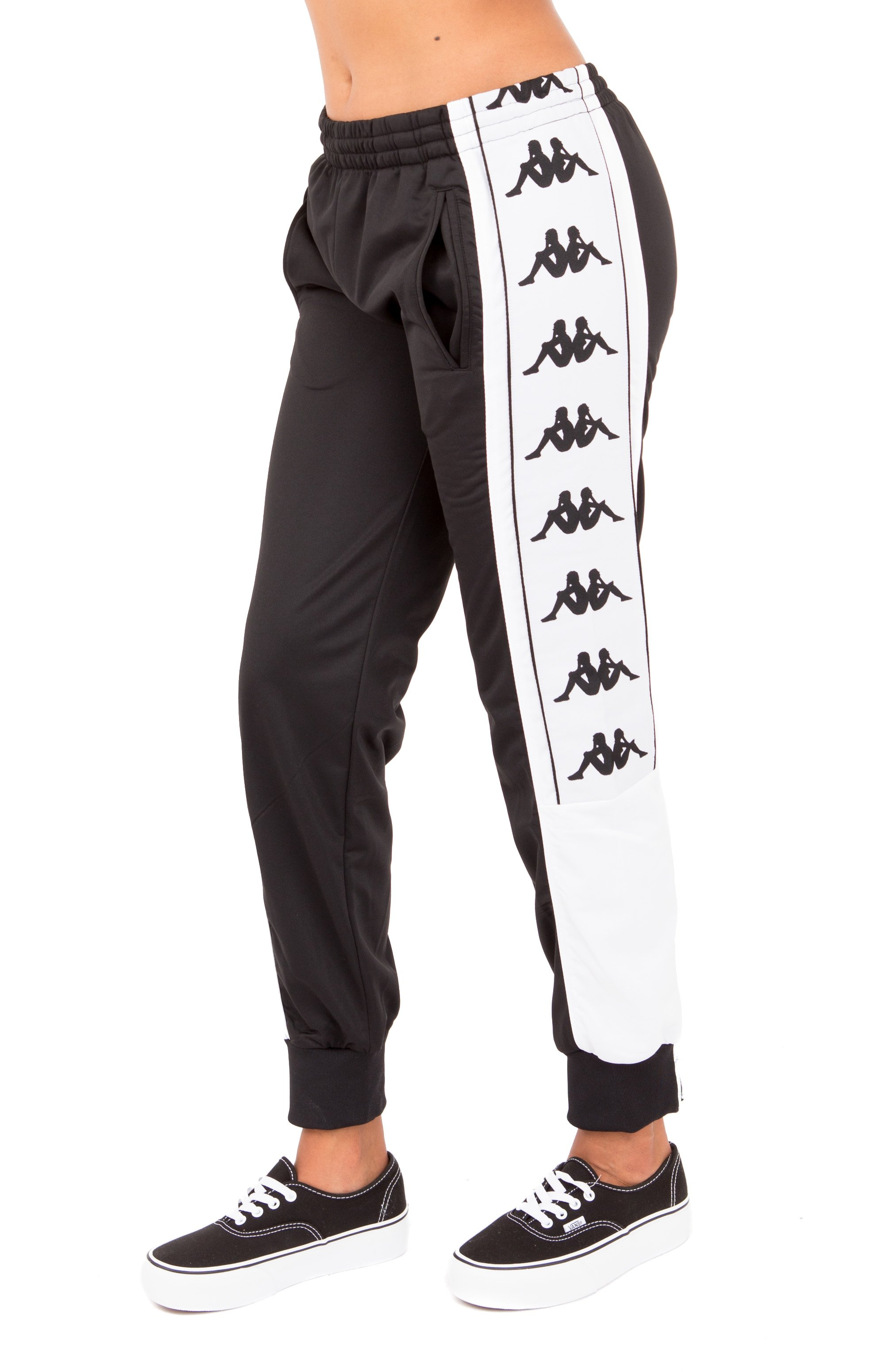222 Banda 10 Arsis Track Pants - Black/White