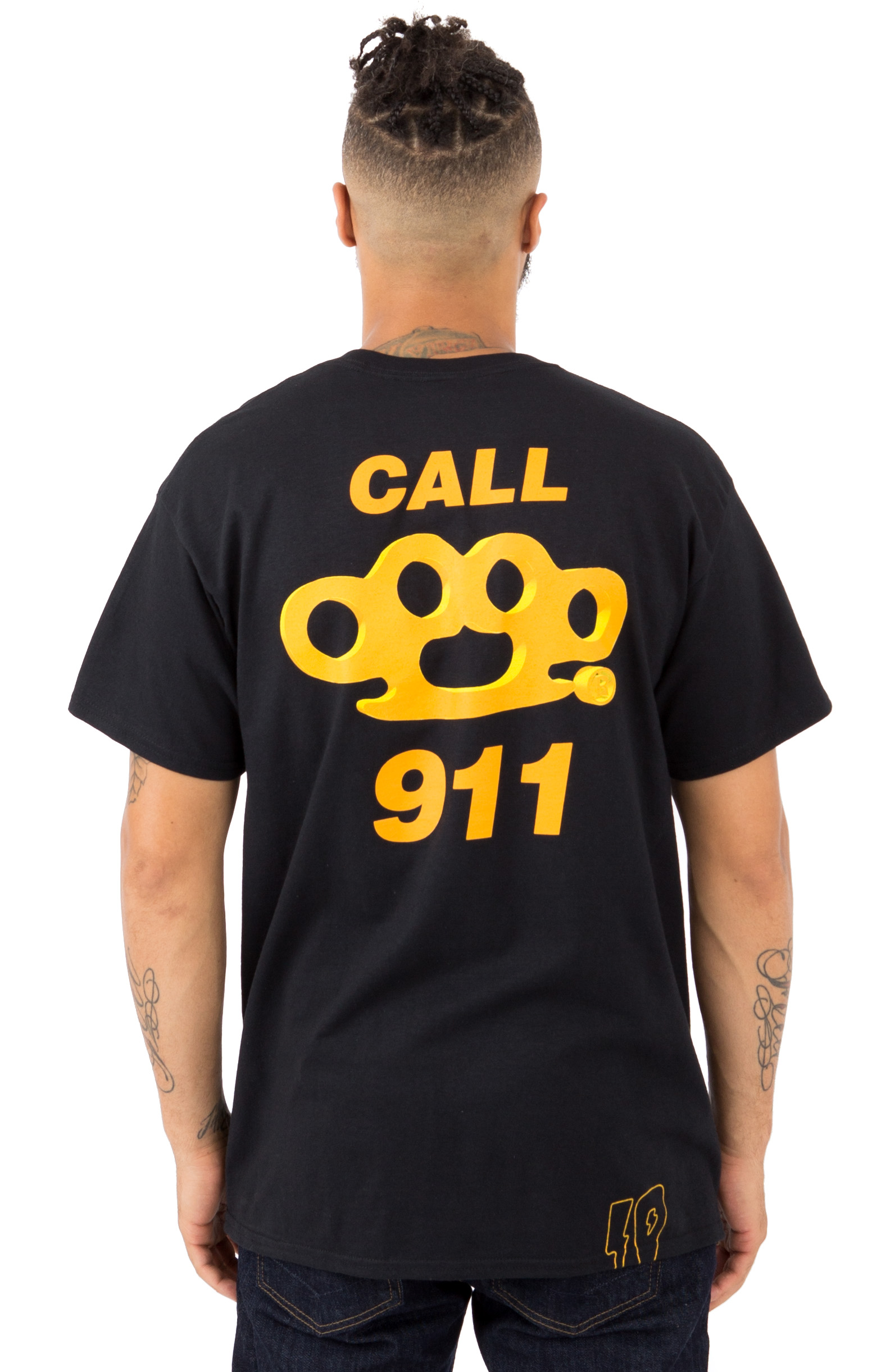 Call 911 T-Shirt - Black