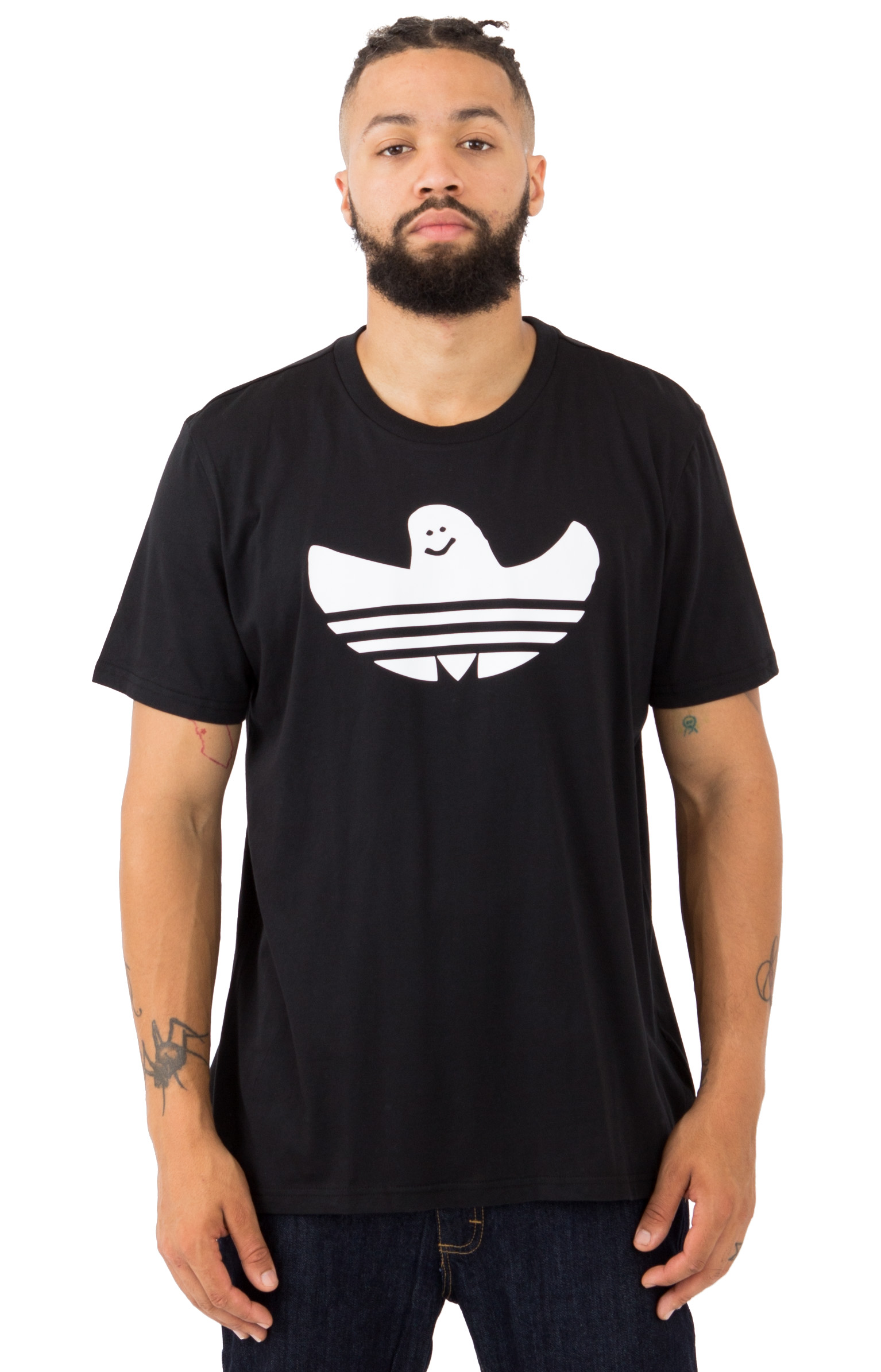Solid Shmoo T-Shirt - Black/White