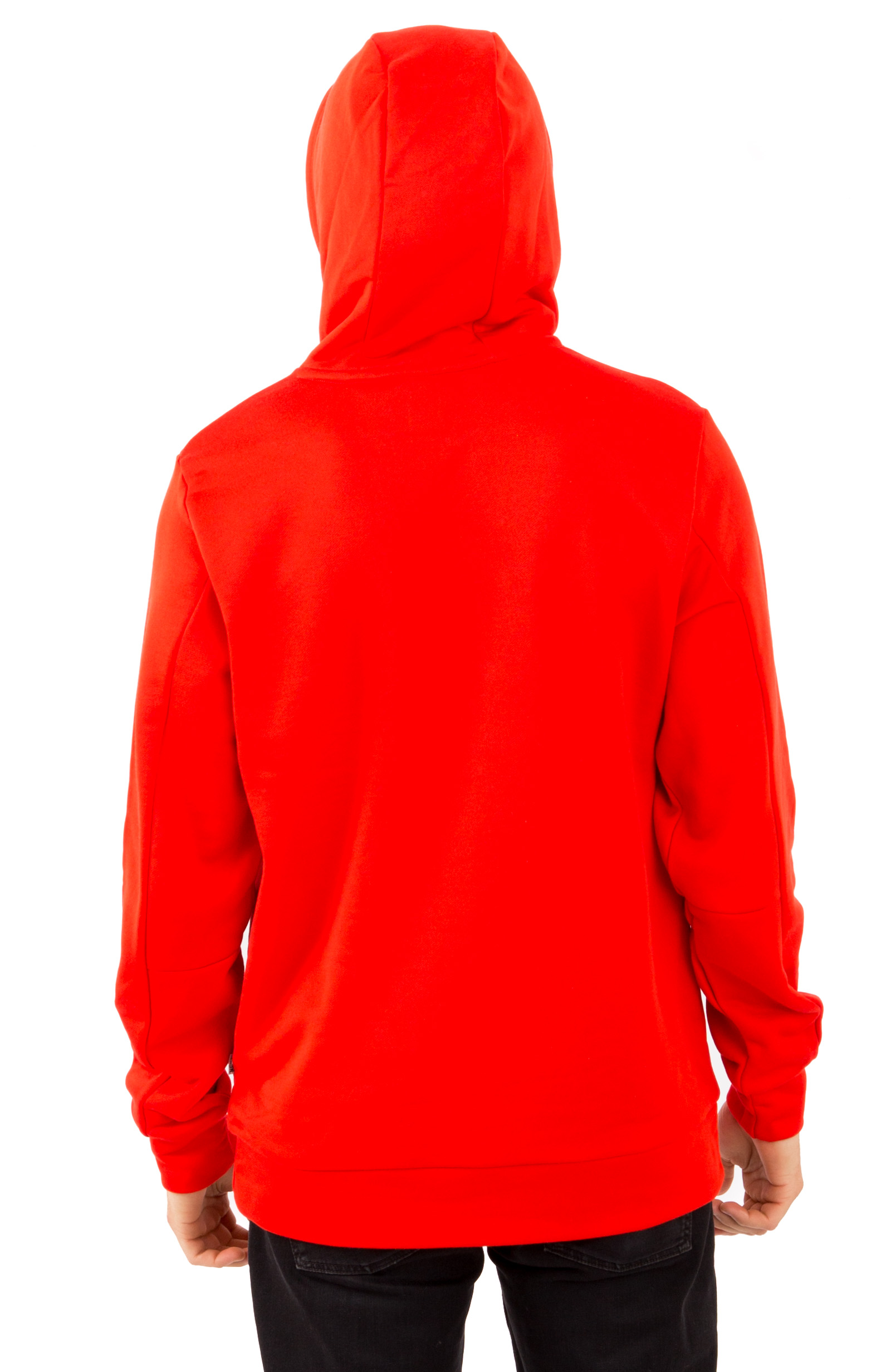 Fame Block Press Pullover Hoodie - Red 3