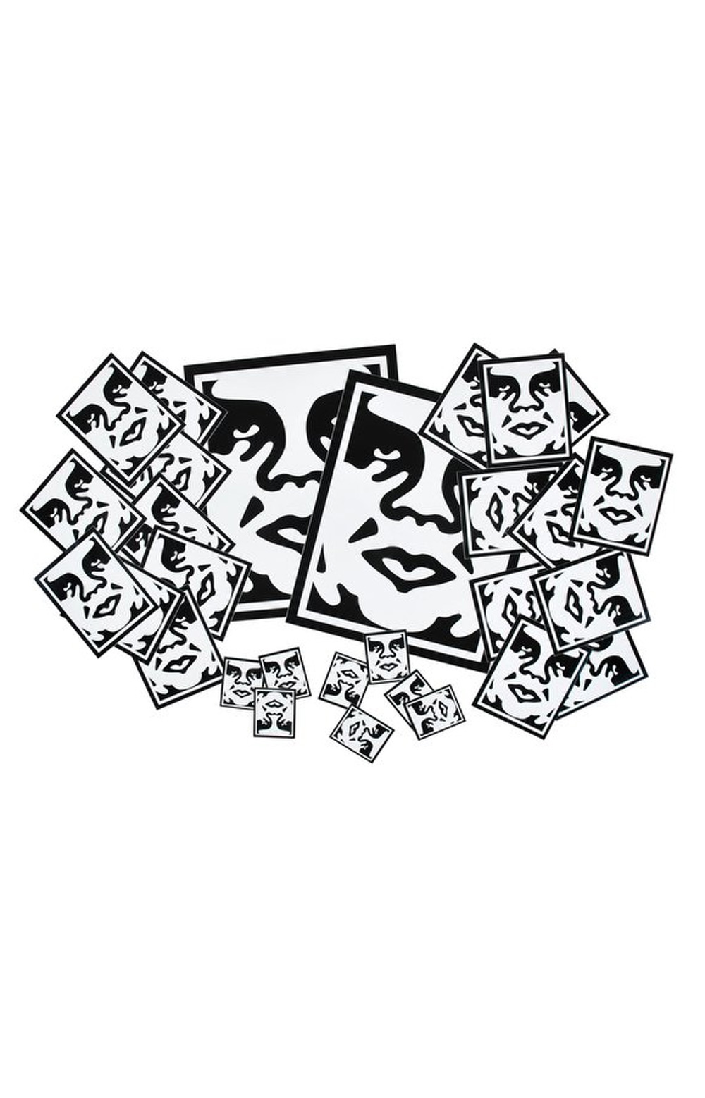 Sticker Pack 2-Icon Face Assorted