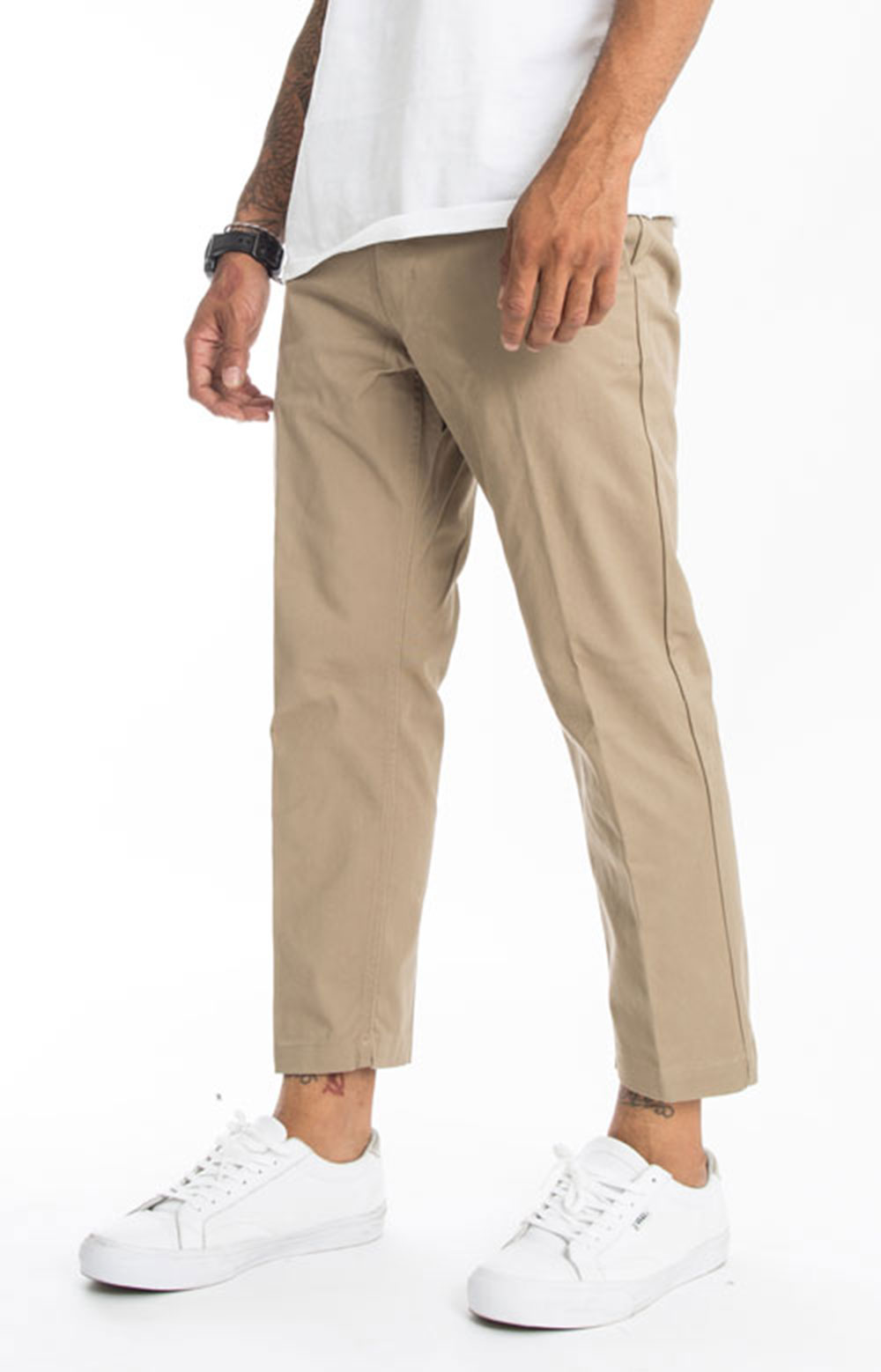 Straggler Flooded Pants - Khaki