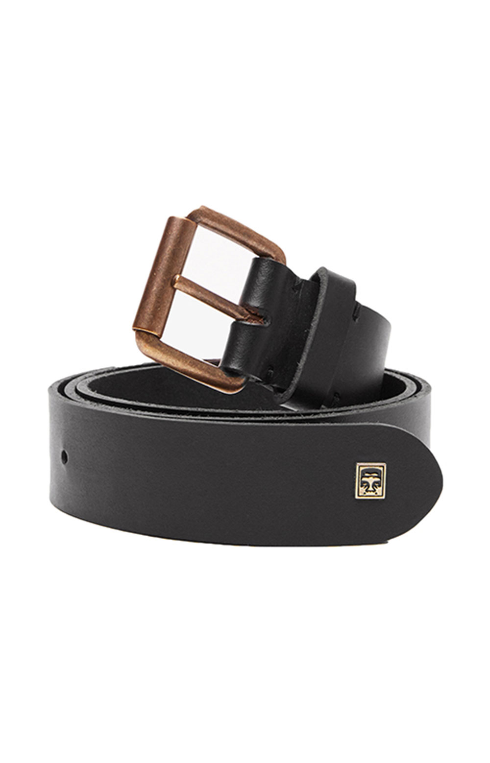 Vandal Leather Belt - Black