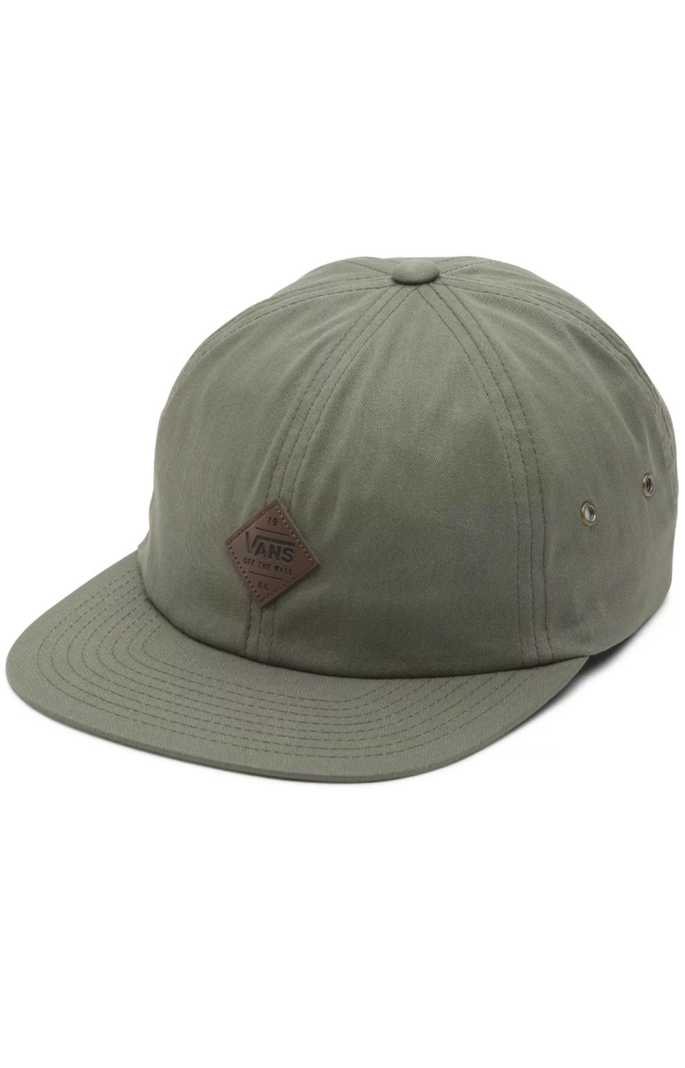 Nesbitt Jockey Strap-Back Hat - Grape Leaf