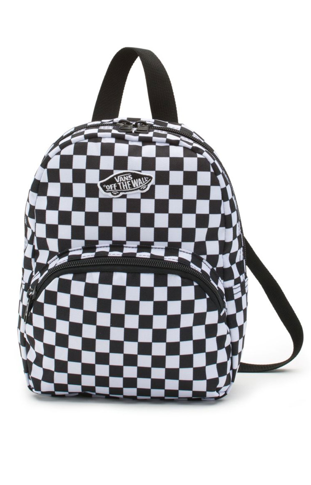 Got This Mini Backpack - Black/White Checker