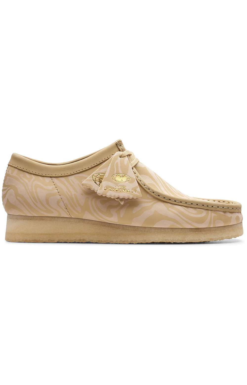 (6147058) Wallabee WW Lo Shoe - Maple