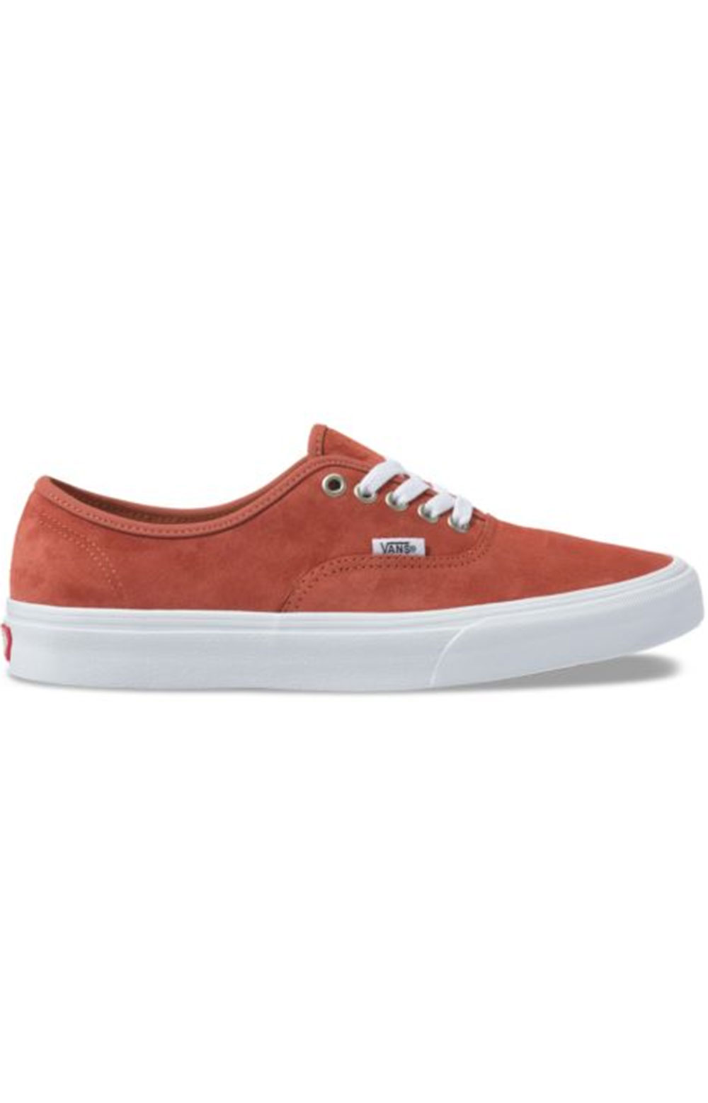 (Z5IV75) Pig Suede Authentic Shoe - Burnt Brick