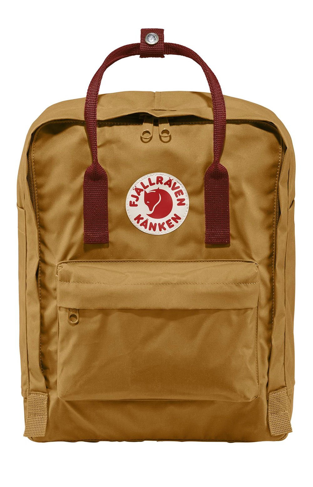 Kanken Backpack - Acorn/Ox Red