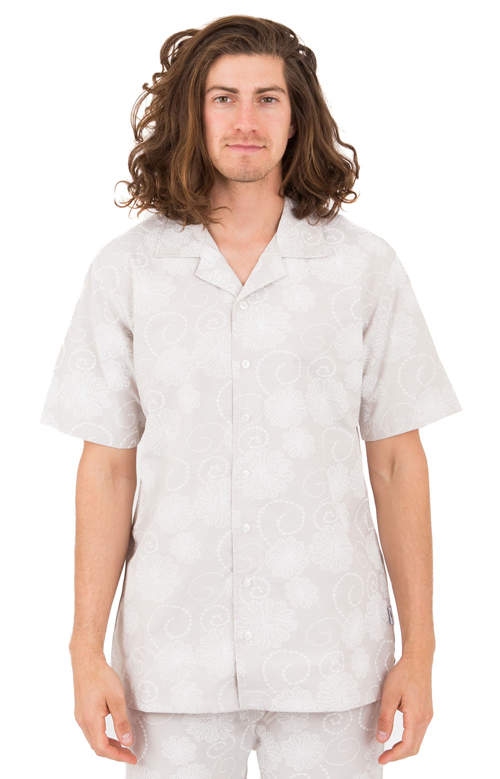 Coen Button-Up Shirt - White