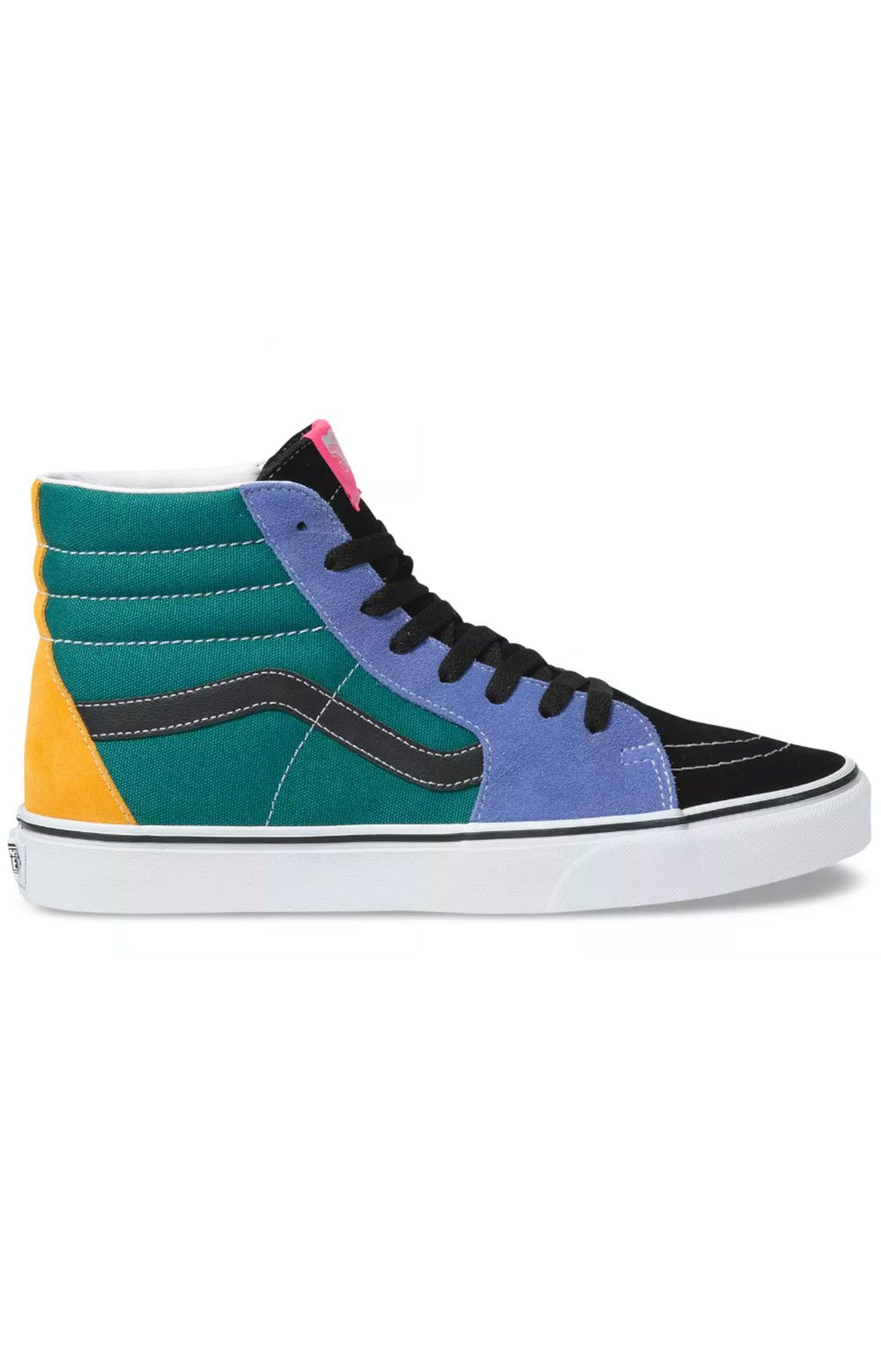 (BV6TGN) Mix & Match Sk8-Hi Shoe - Cadmium Yellow/Tidepool