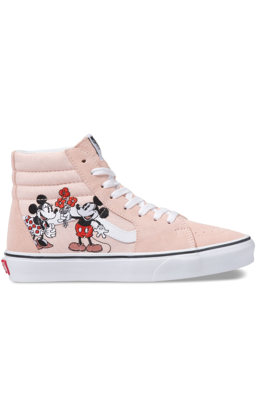 (8GEUPN) Sk8-Hi Shoe - Mickey Mouse And Minnie Mouse fbbb3b802b3