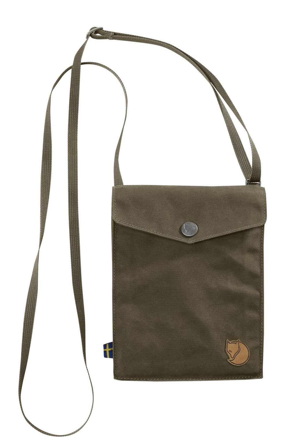 Pocket Shoulder Bag - Dark Olive