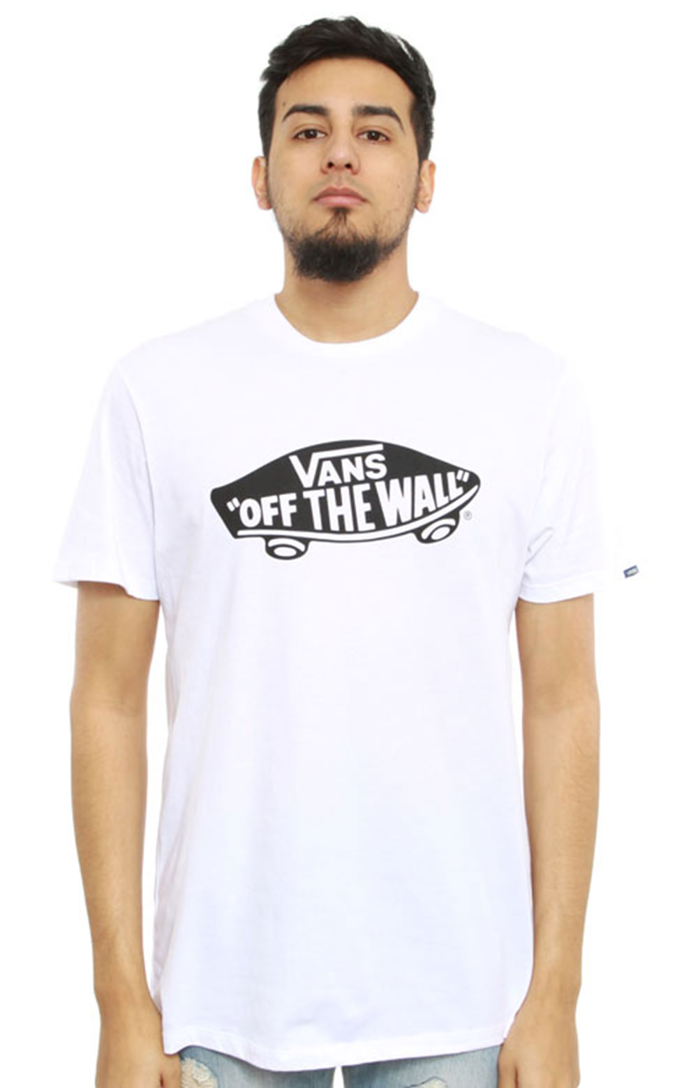 77323 Vans OTW T-Shirt - White/Black
