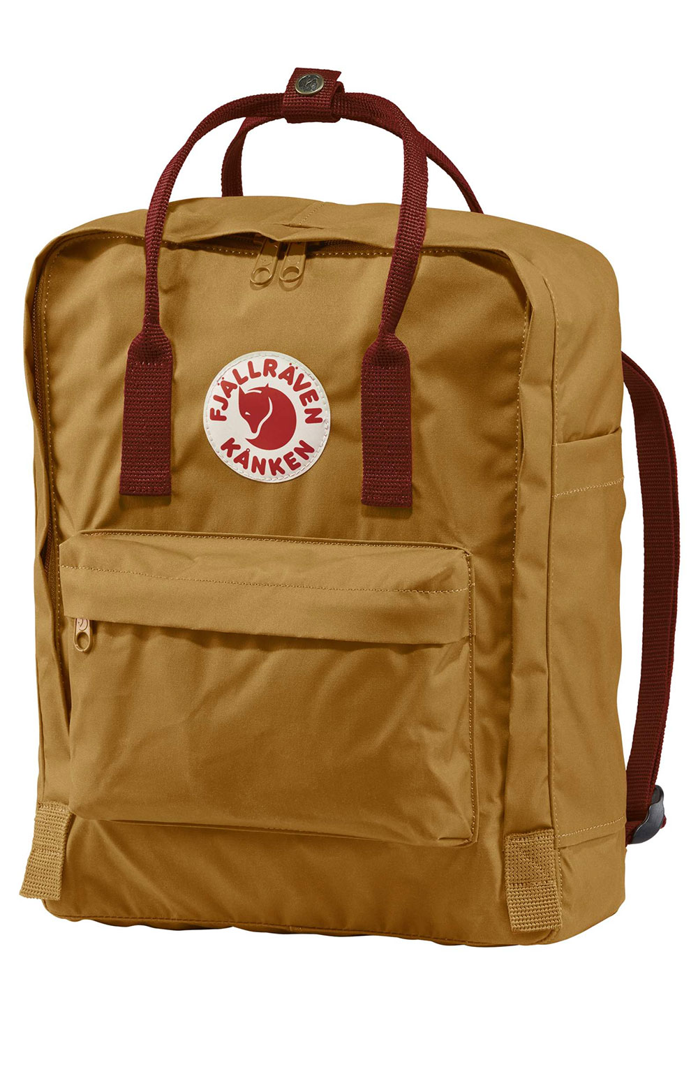 Kanken Backpack - Acorn/Ox Red 2