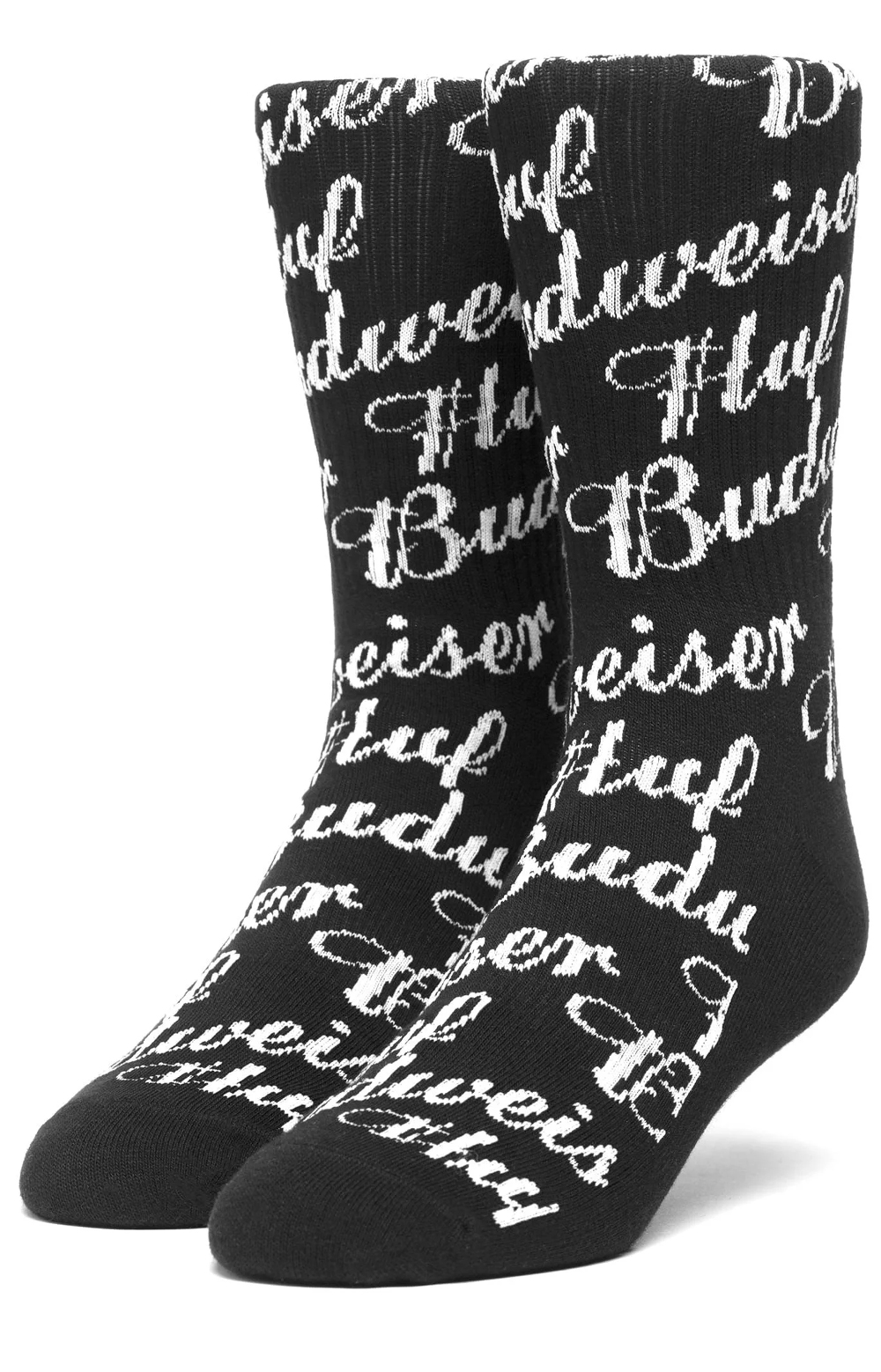 Budweiser Crew Sock - Black