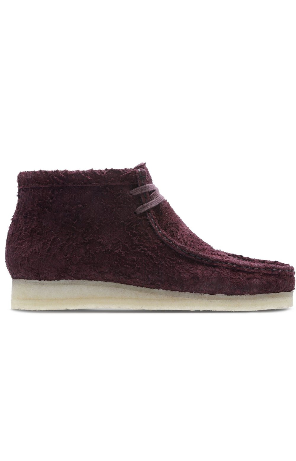 (26135321) Wallabee Steep Boot - Burgundy Interest