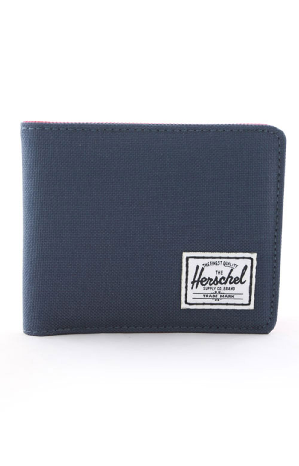 Roy Wallet - Navy/Red