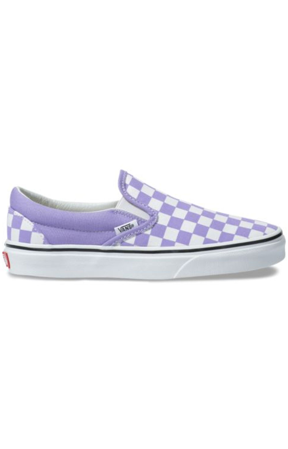 (8F7VLX) Checkerboard Classic Slip-On Shoe - Violet Tulip